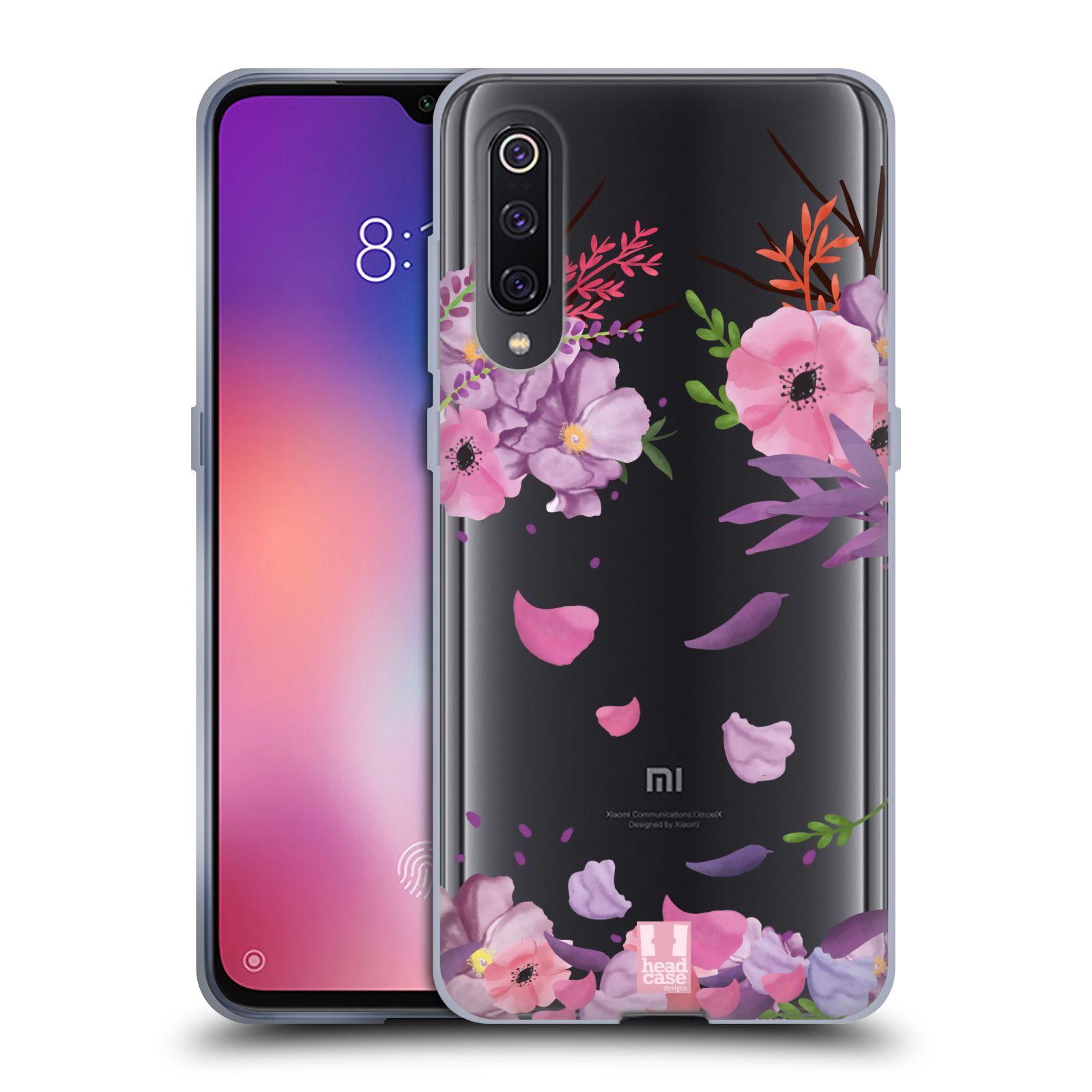 Silikonové pouzdro na mobil Xiaomi Mi 9 - Head Case - Okvětní lístky