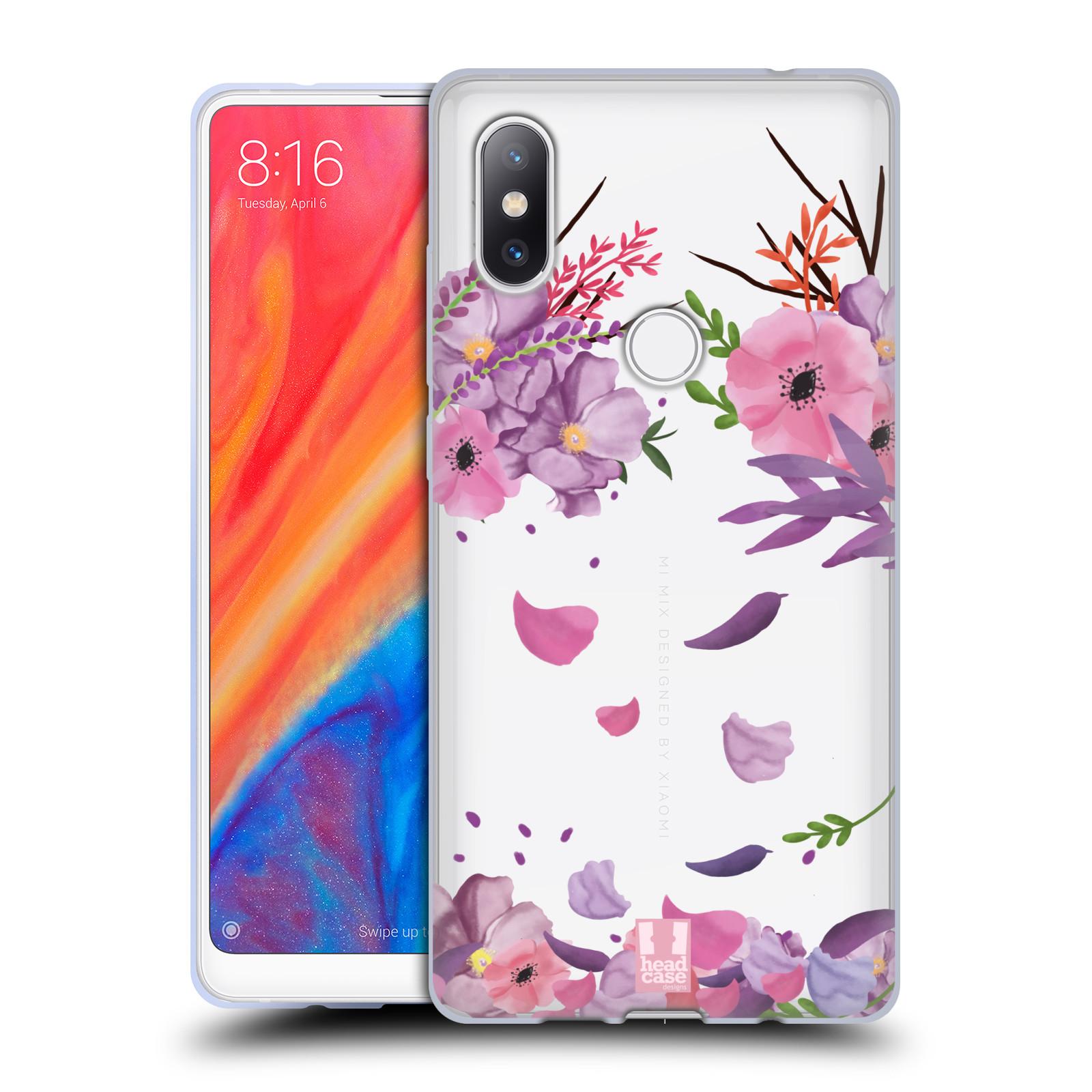 Silikonové pouzdro na mobil Xiaomi Mi Mix 2S - Head Case - Okvětní lístky