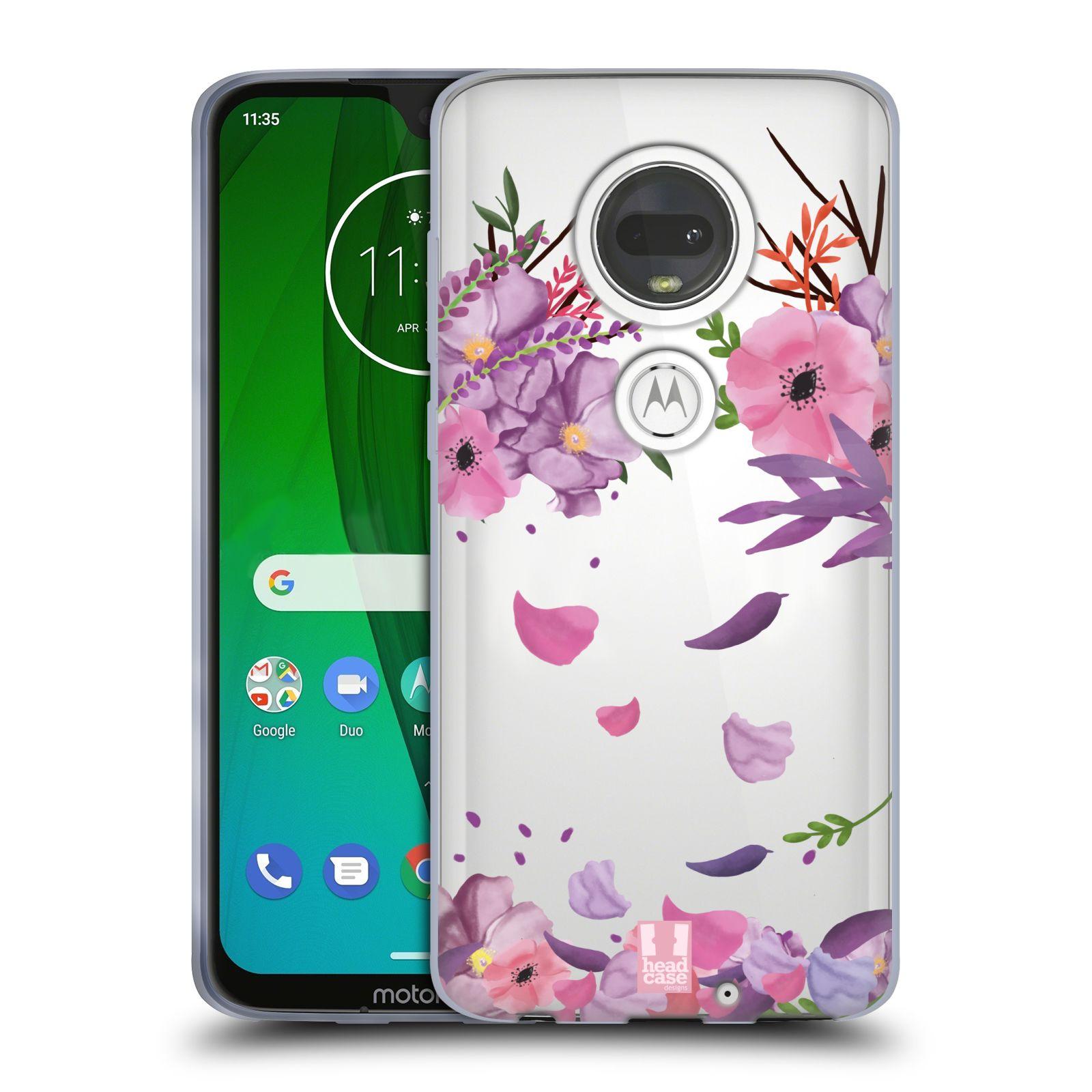 Silikonové pouzdro na mobil Motorola Moto G7 - Head Case - Okvětní lístky
