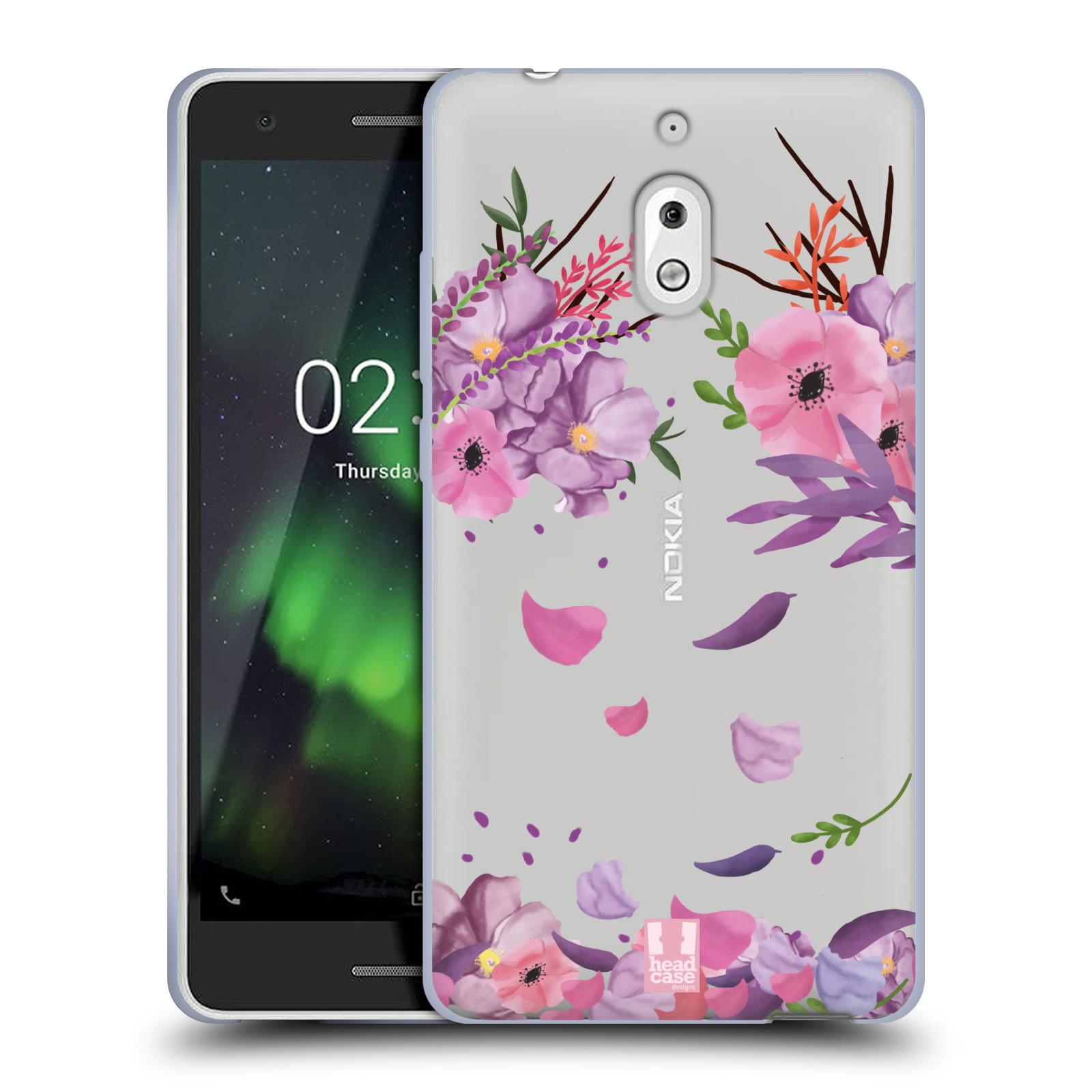 Silikonové pouzdro na mobil Nokia 2.1 - Head Case - Okvětní lístky