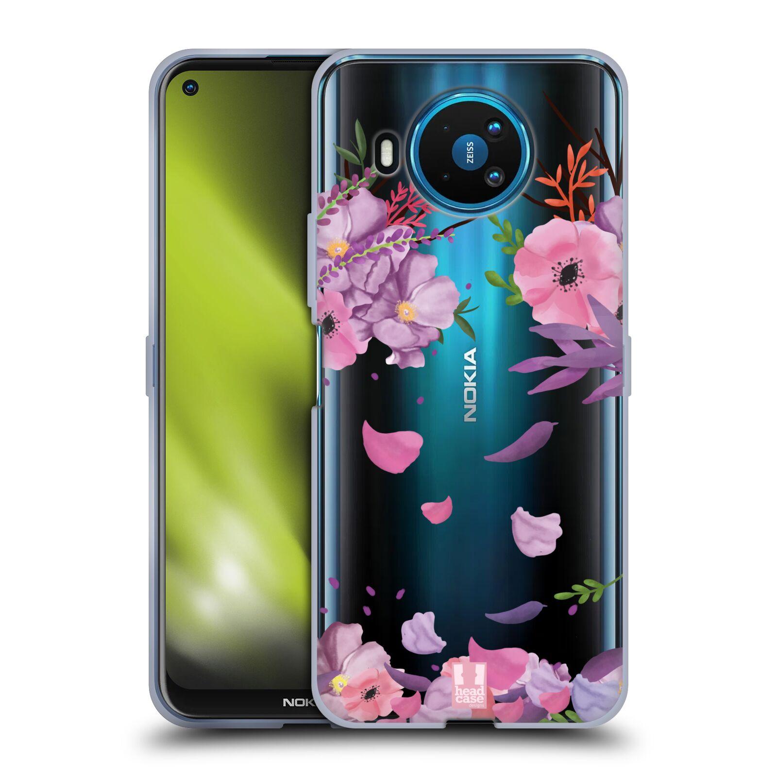 Silikonové pouzdro na mobil Nokia 8.3 5G - Head Case - Okvětní lístky