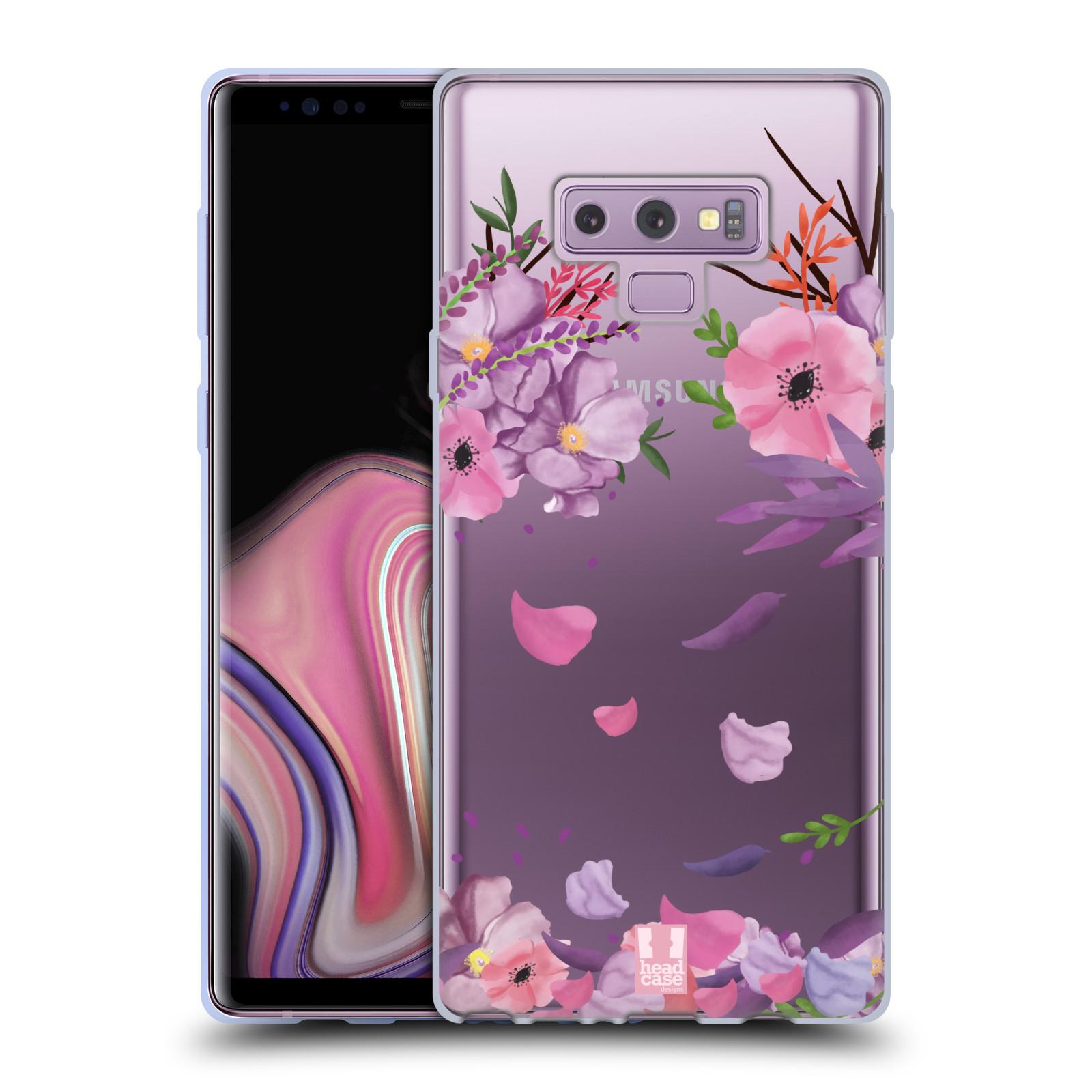 Silikonové pouzdro na mobil Samsung Galaxy Note 9 - Head Case - Okvětní lístky