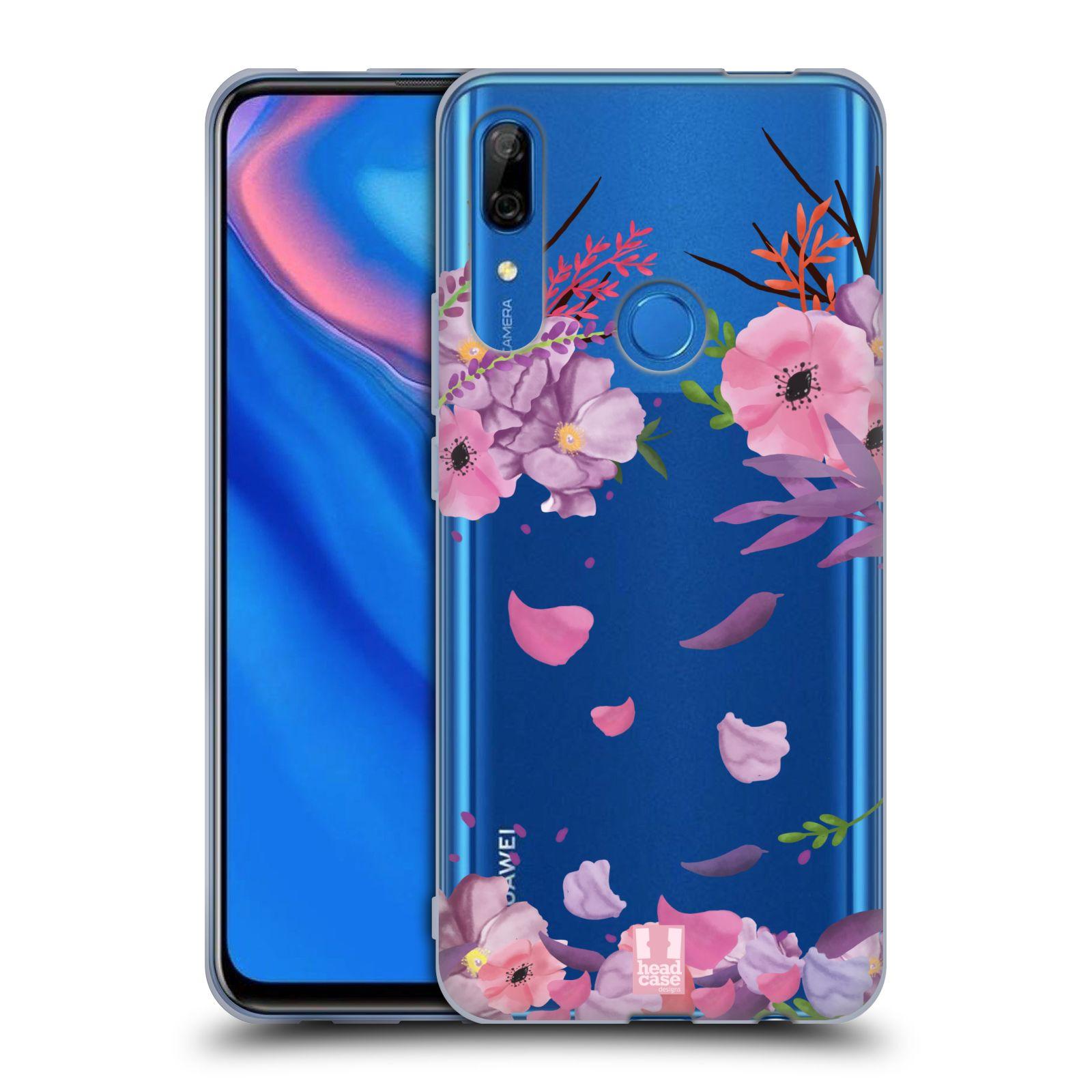 Silikonové pouzdro na mobil Huawei P Smart Z - Head Case - Okvětní lístky