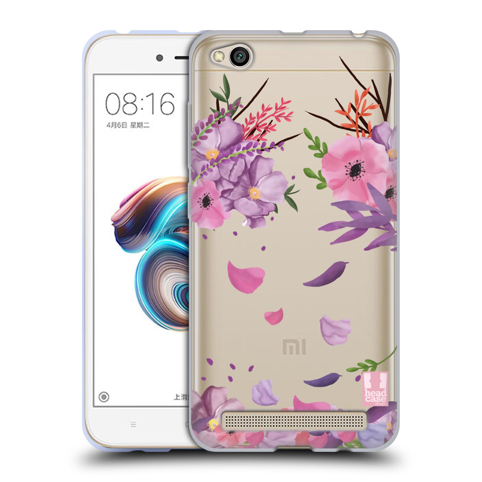 Silikonové pouzdro na mobil Xiaomi Redmi 5A - Head Case - Okvětní lístky