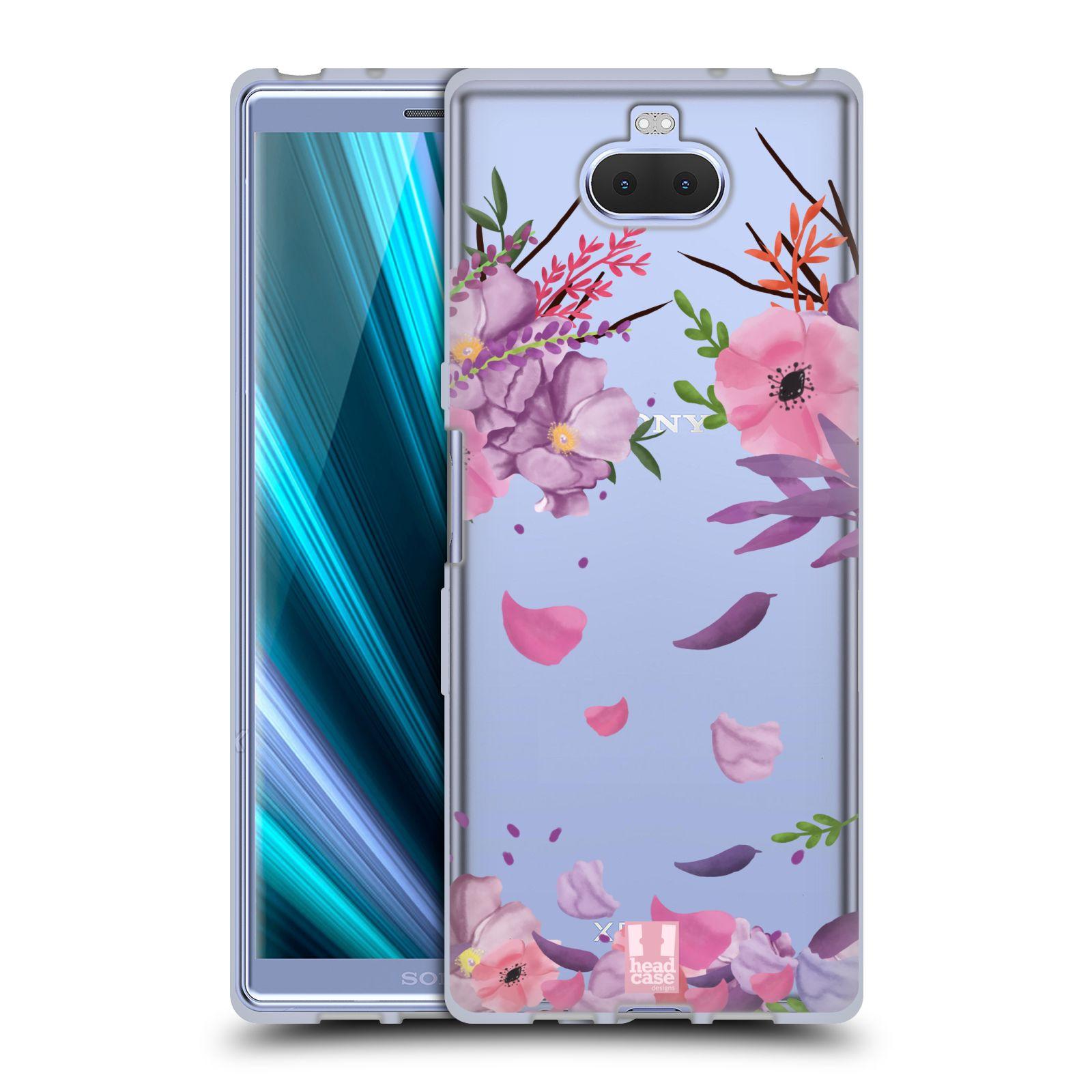 Silikonové pouzdro na mobil Sony Xperia 10 - Head Case - Okvětní lístky