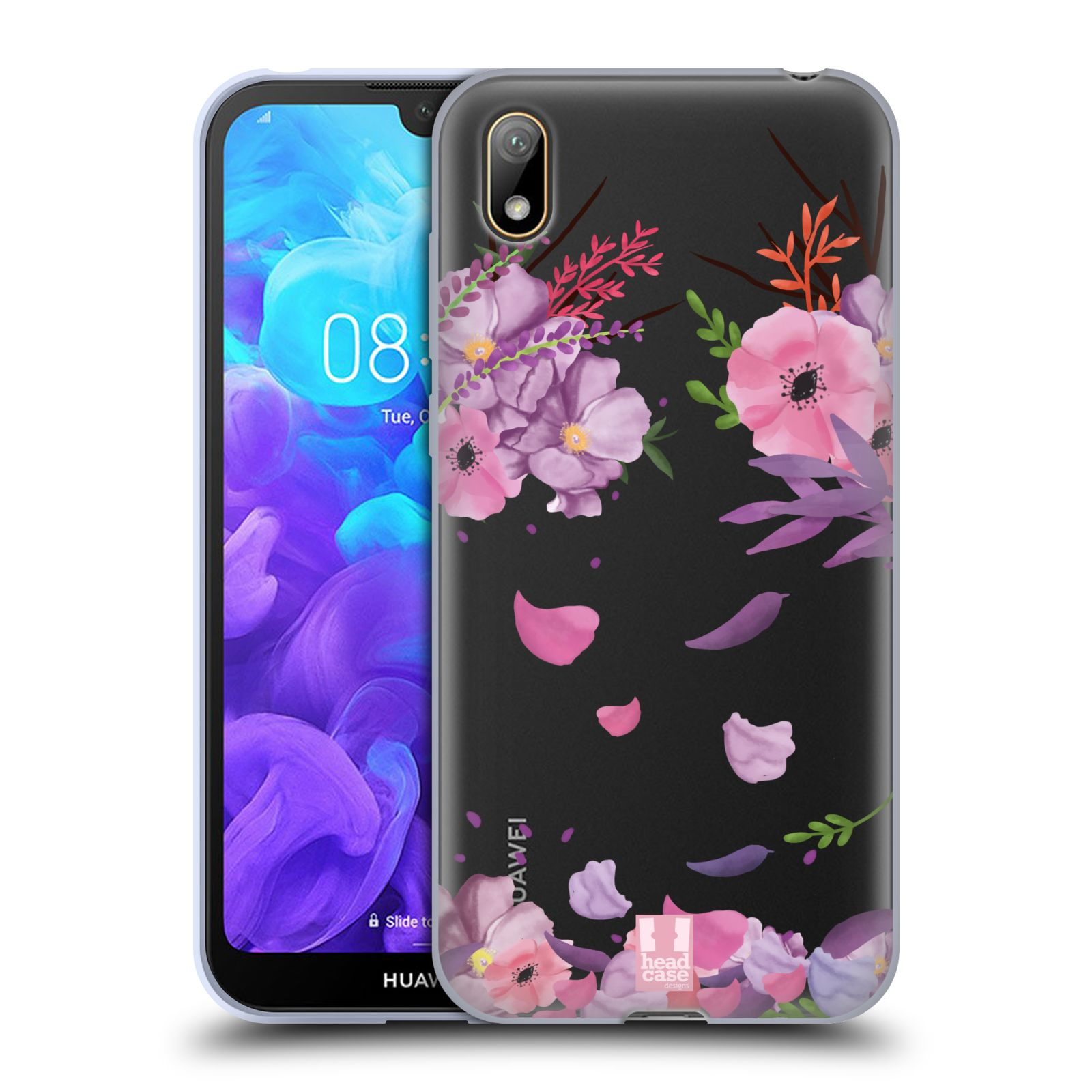 Silikonové pouzdro na mobil Huawei Y5 (2019) - Head Case - Okvětní lístky
