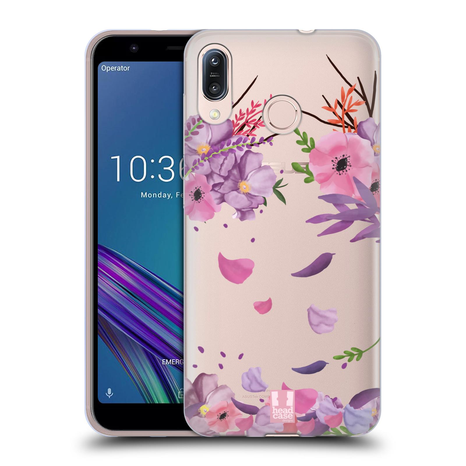 Silikonové pouzdro na mobil Asus Zenfone Max M1 ZB555KL - Head Case - Okvětní lístky