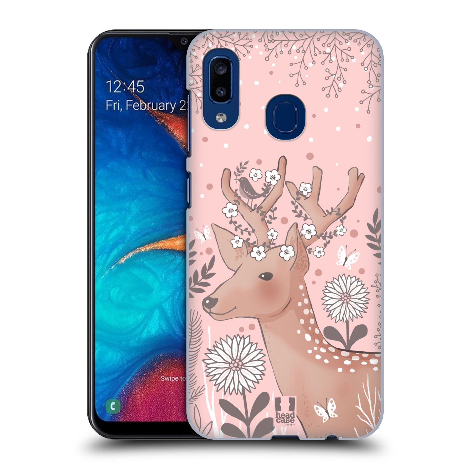 Plastové pouzdro na mobil Samsung Galaxy A20 - Head Case - Jelíneček