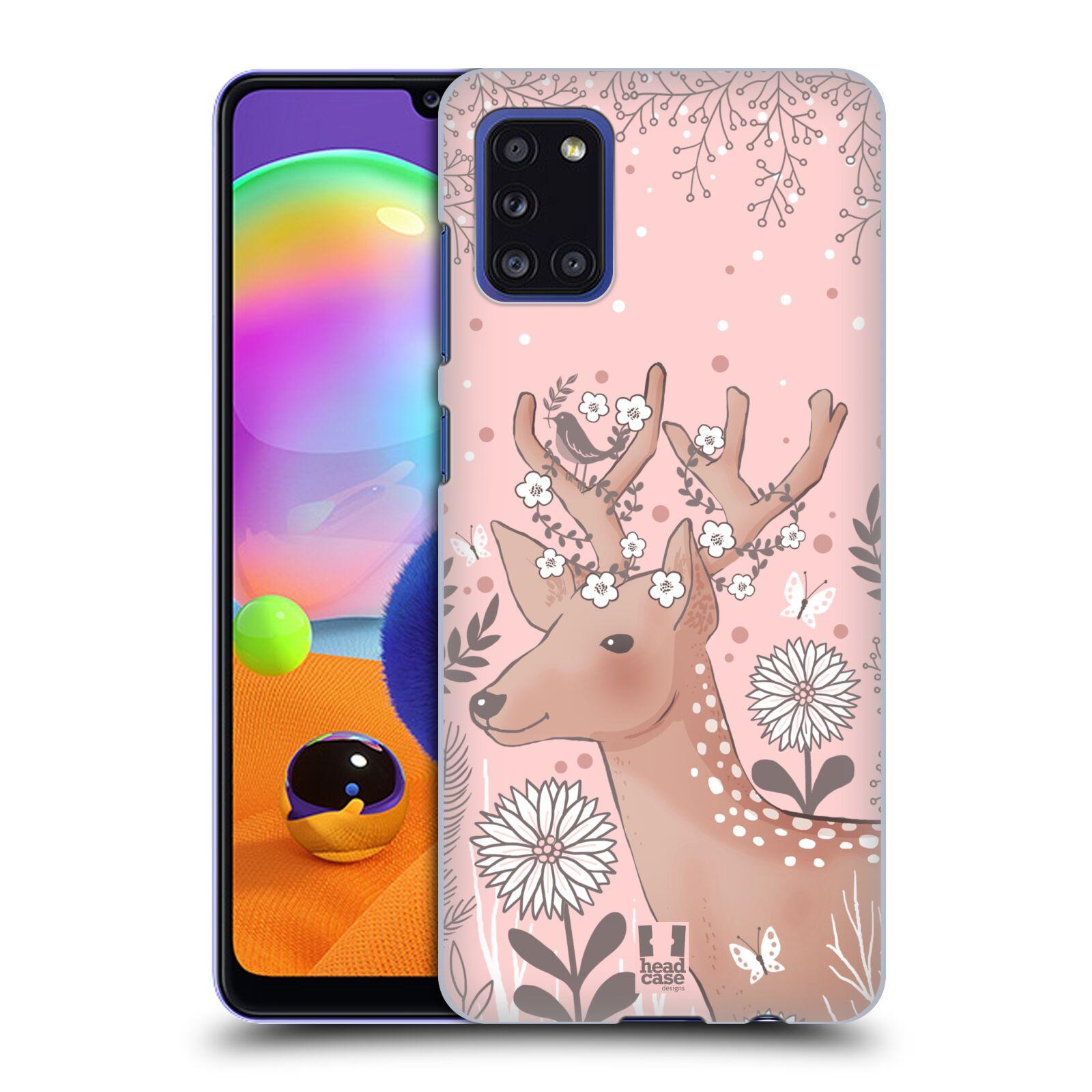 Plastové pouzdro na mobil Samsung Galaxy A31 - Head Case - Jelíneček