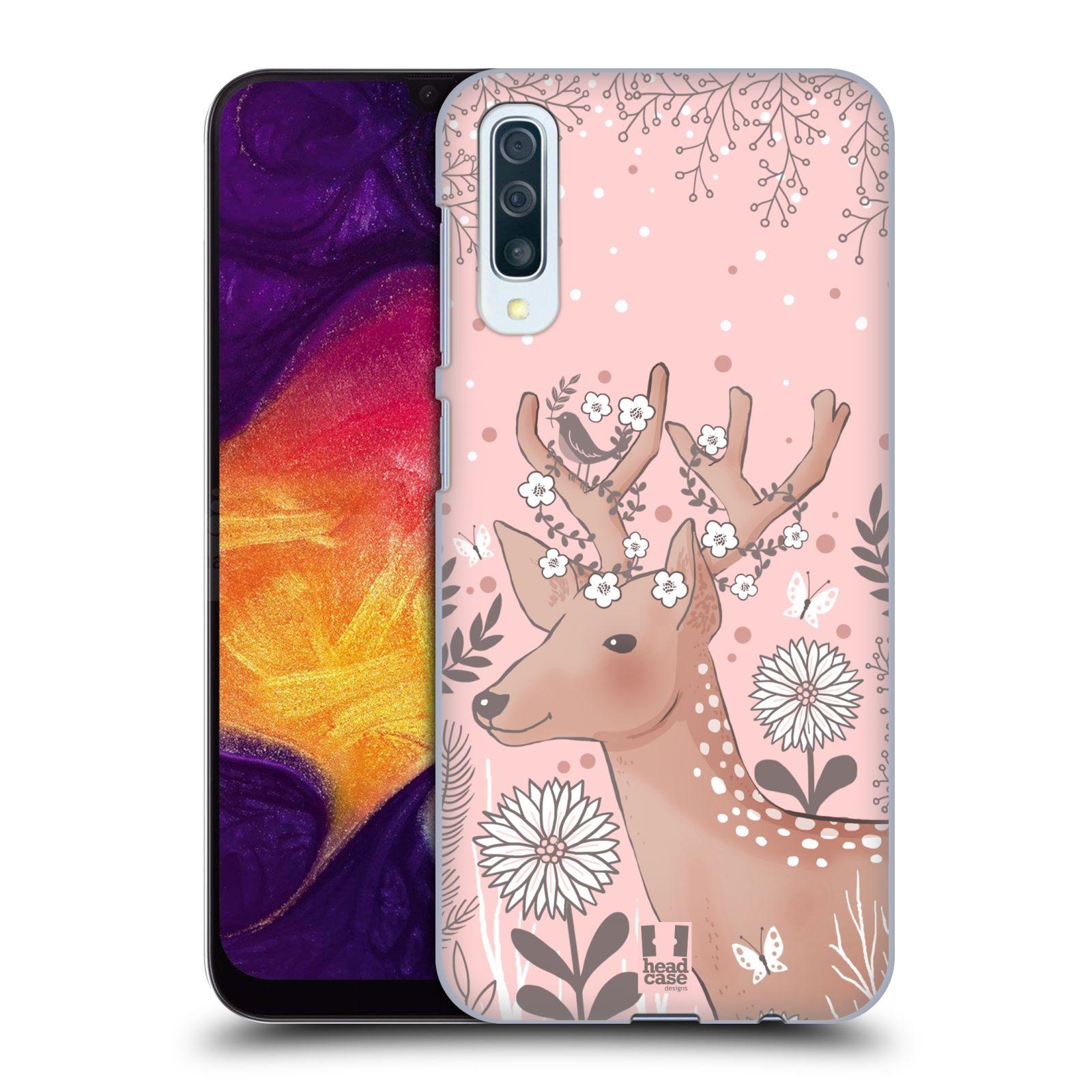 Plastové pouzdro na mobil Samsung Galaxy A50 - Head Case - Jelíneček