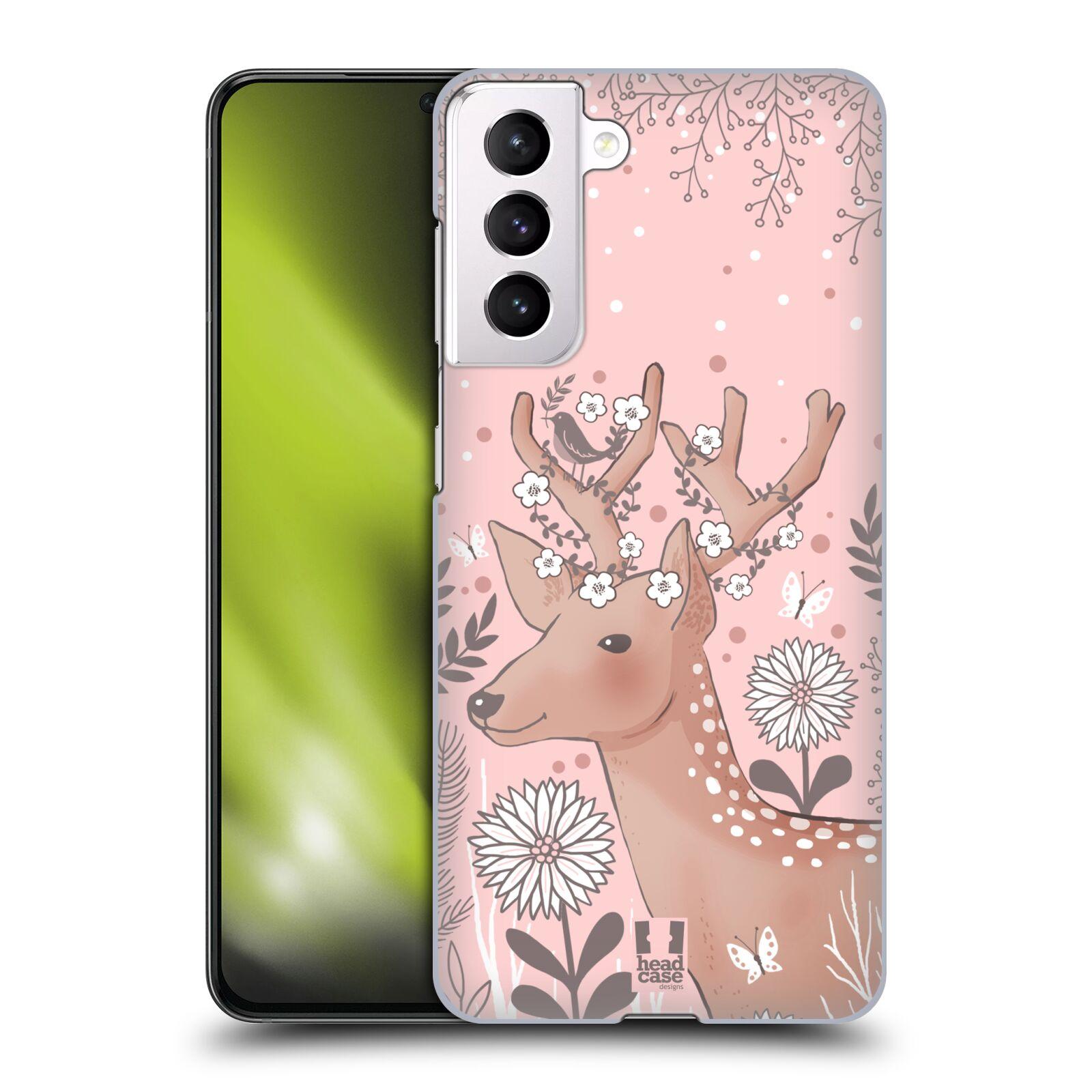 Plastové pouzdro na mobil Samsung Galaxy S21 5G - Head Case - Jelíneček