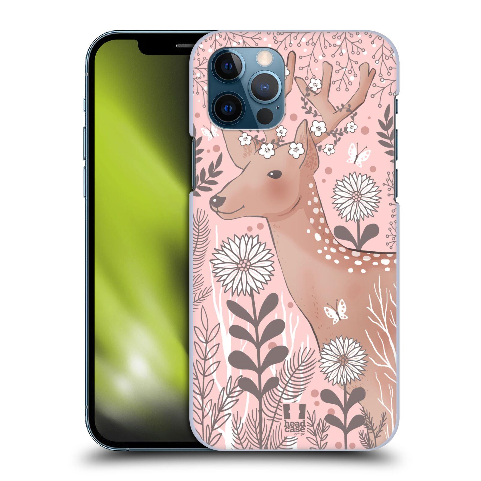 Plastové pouzdro na mobil Apple iPhone 12 / 12 Pro - Head Case - Jelíneček