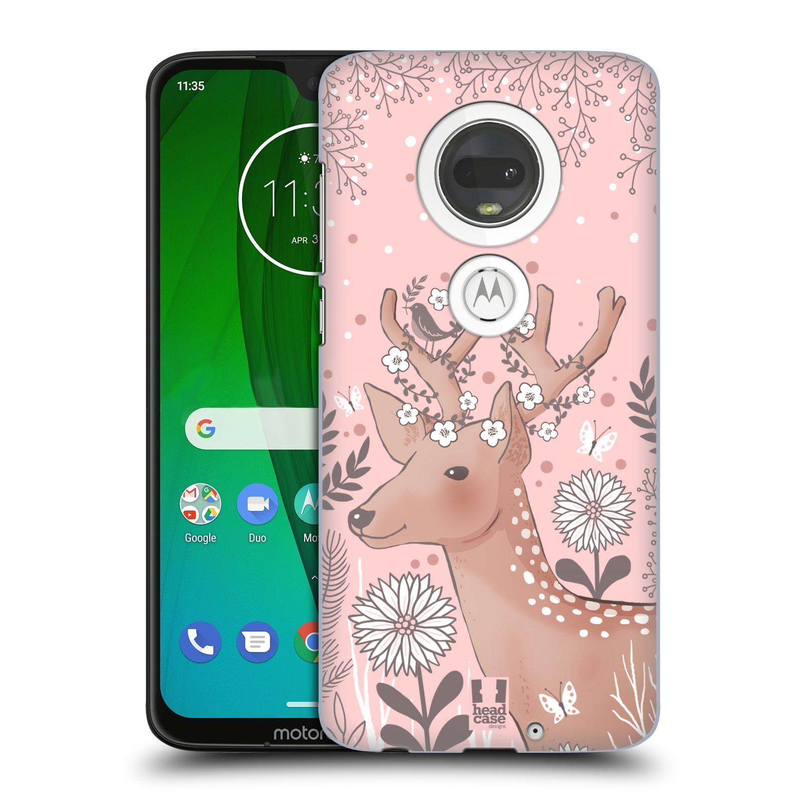 Plastové pouzdro na mobil Motorola Moto G7 - Head Case - Jelíneček