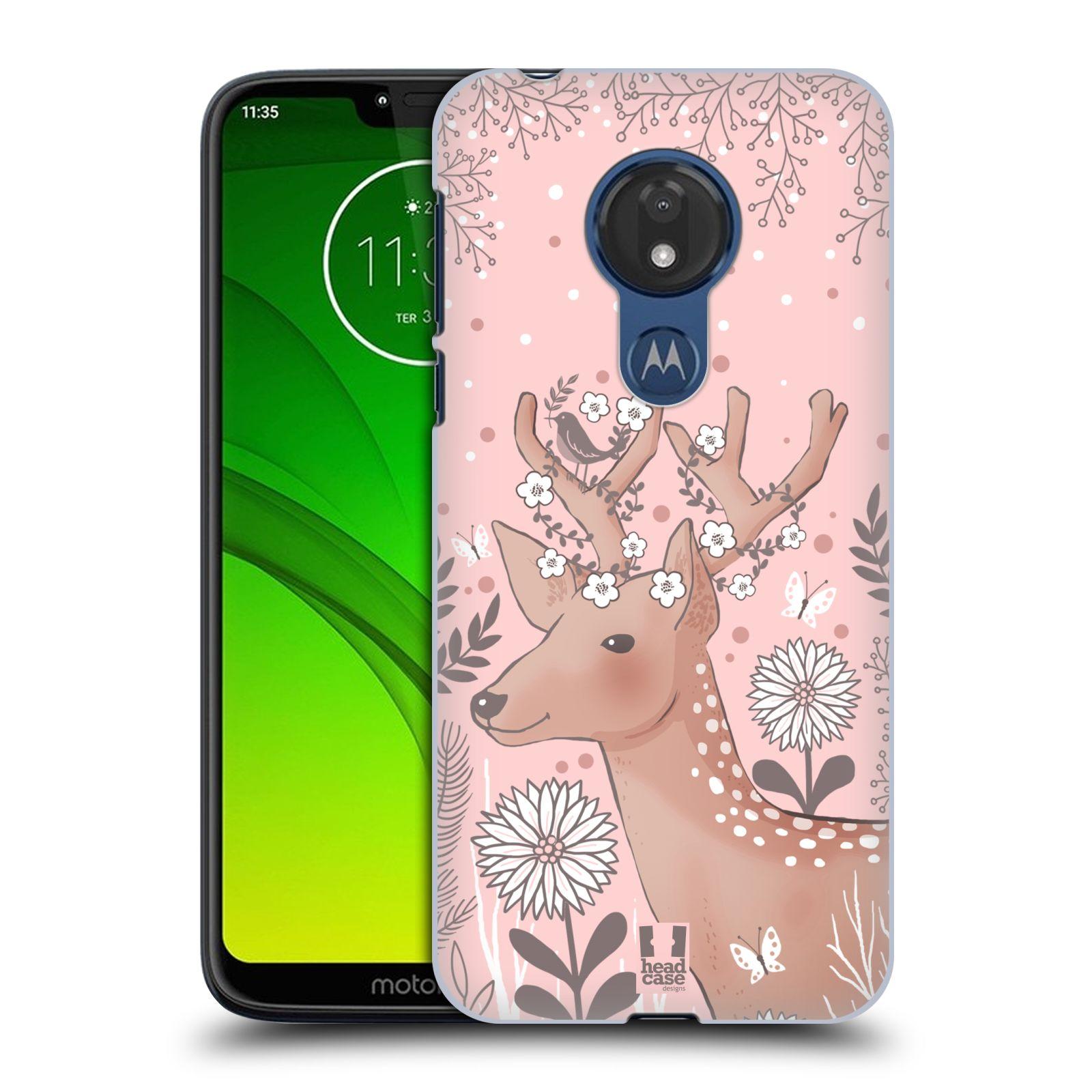 Plastové pouzdro na mobil Motorola Moto G7 Power - Head Case - Jelíneček