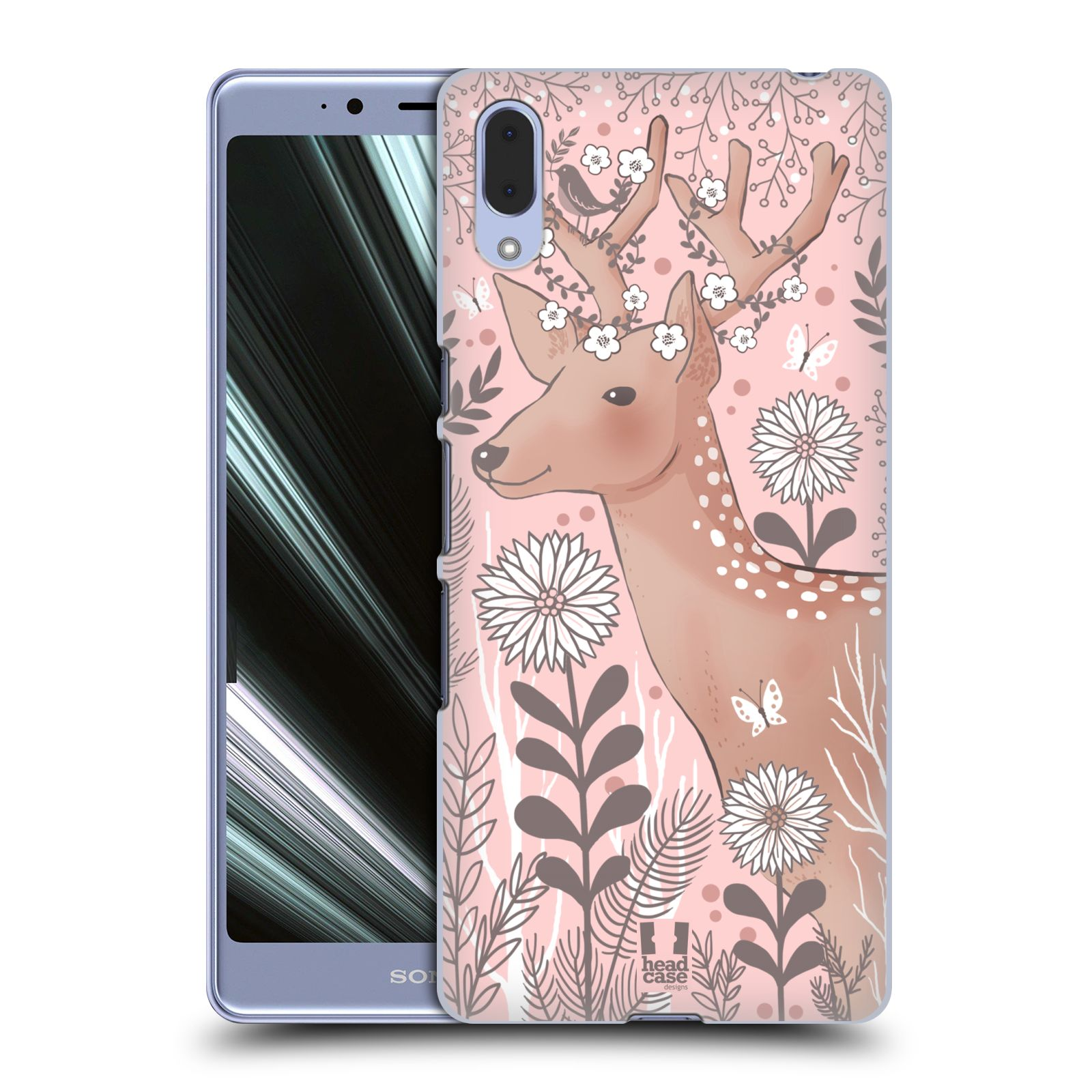 Plastové pouzdro na mobil Sony Xperia L3 - Head Case - Jelíneček