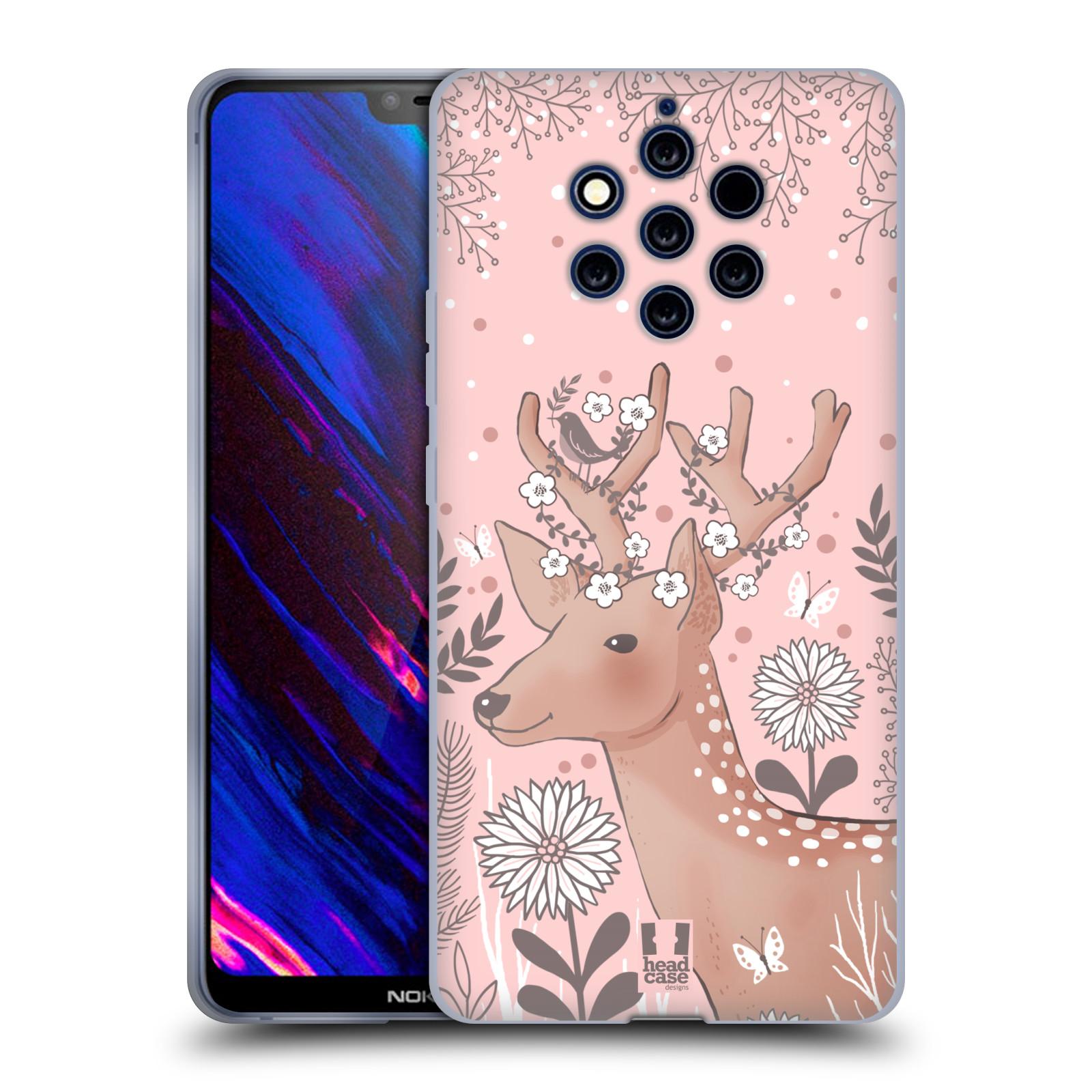 Silikonové pouzdro na mobil Nokia 9 PureView - Head Case - Jelíneček