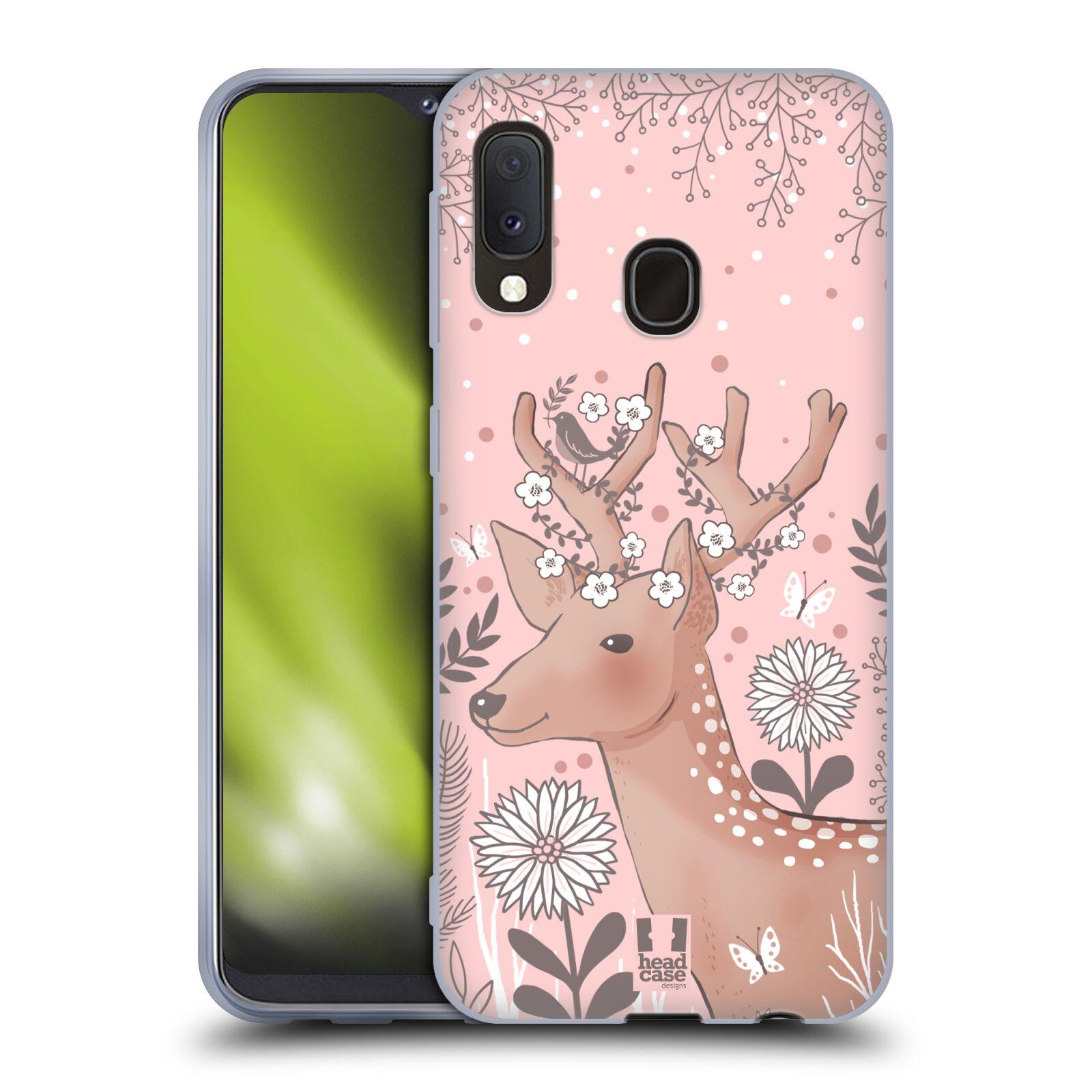Silikonové pouzdro na mobil Samsung Galaxy A20e - Head Case - Jelíneček