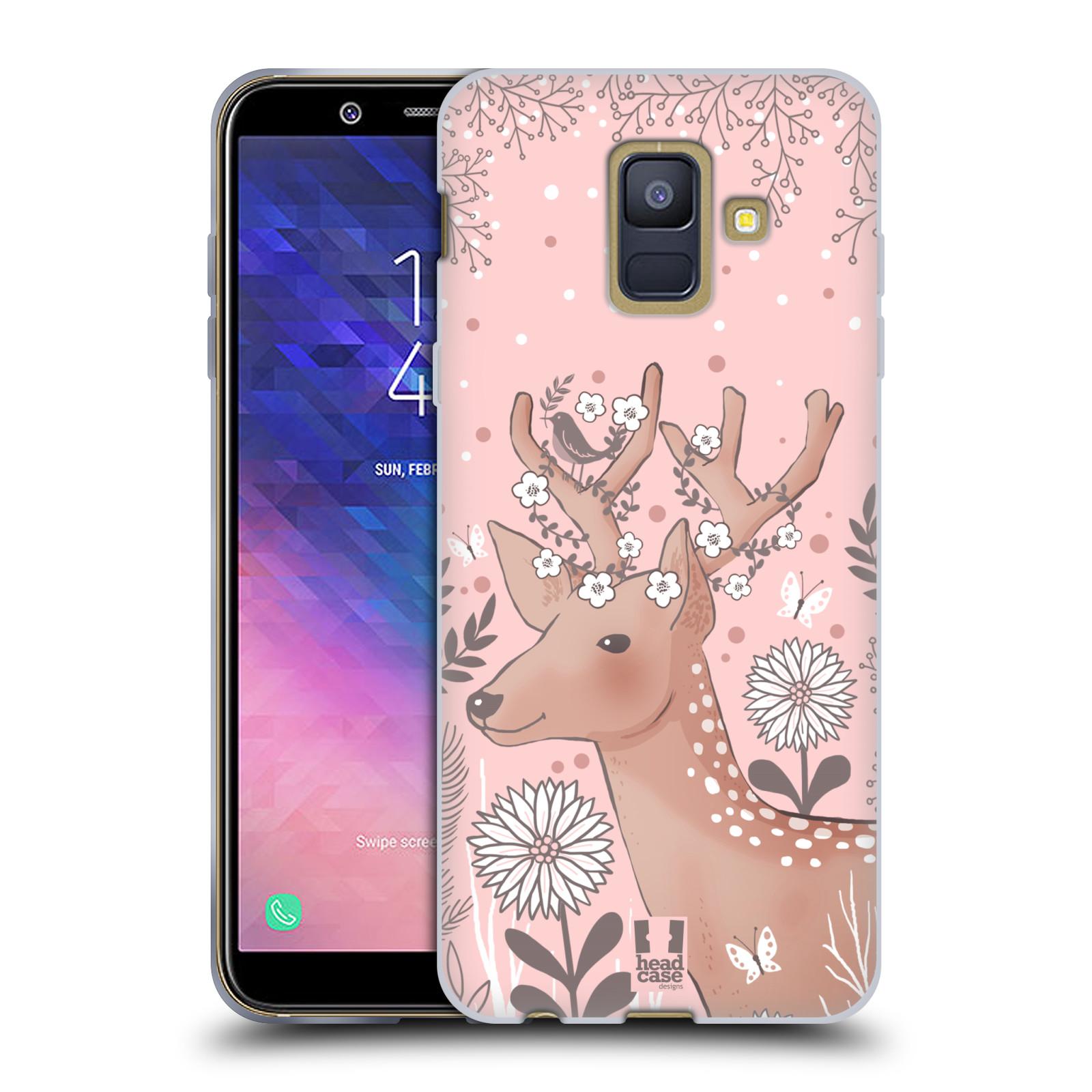 Silikonové pouzdro na mobil Samsung Galaxy A6 (2018) - Head Case - Jelíneček
