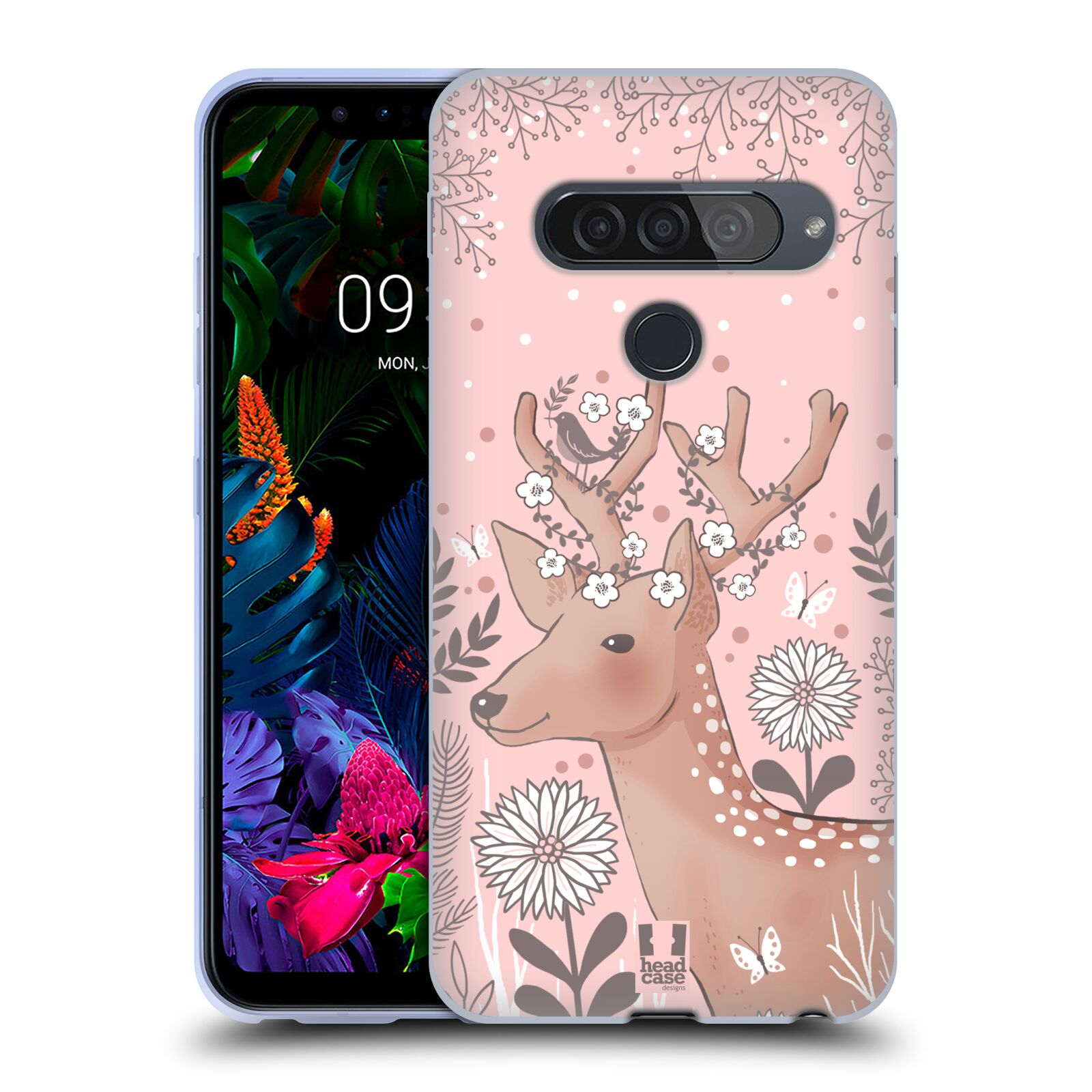 Silikonové pouzdro na mobil LG G8s ThinQ - Head Case - Jelíneček