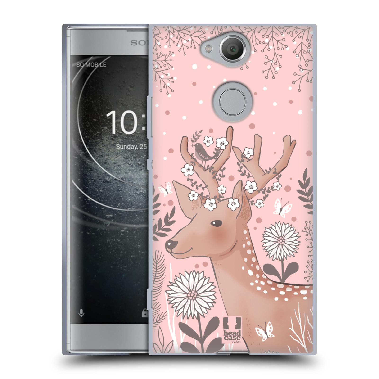 Silikonové pouzdro na mobil Sony Xperia XA2 - Head Case - Jelíneček