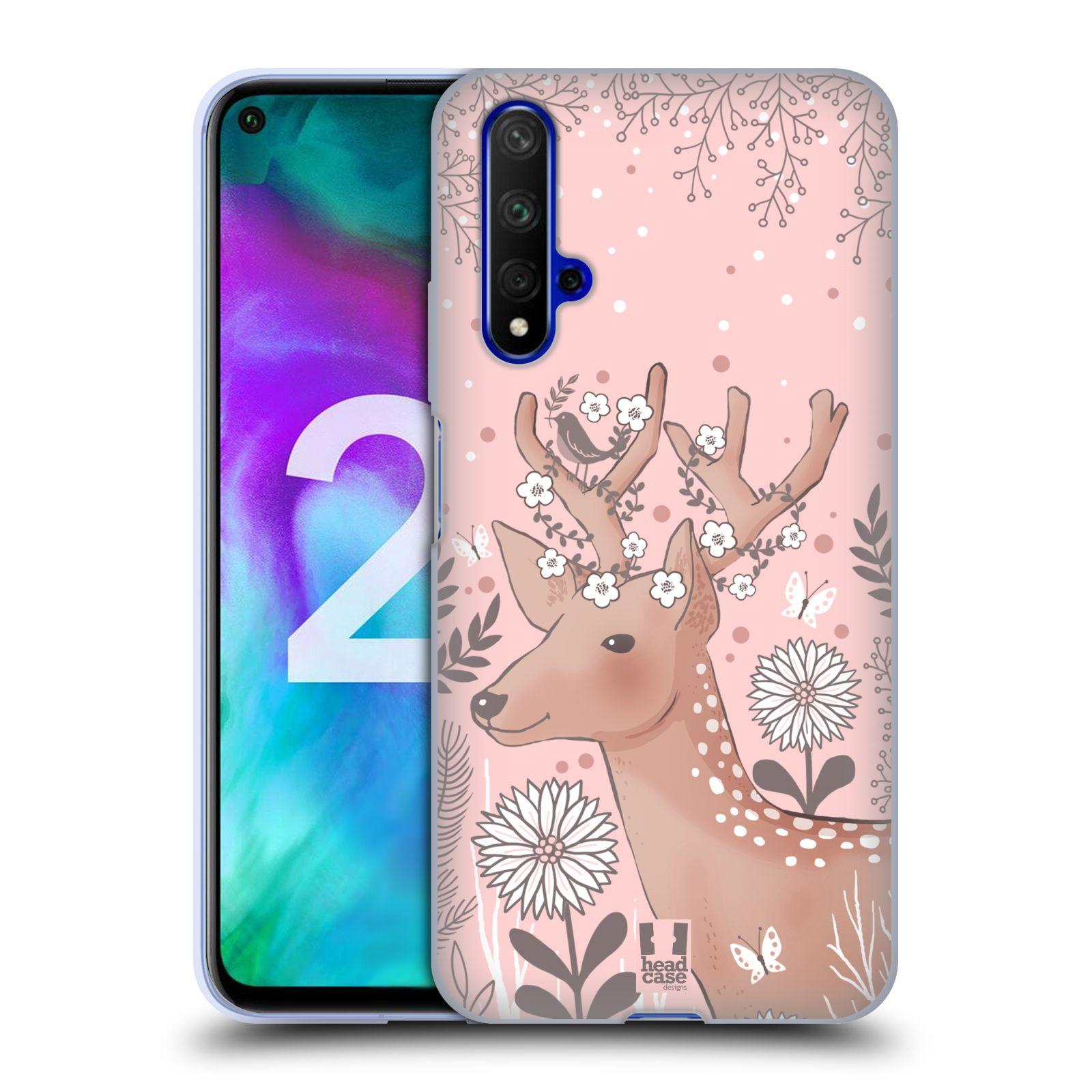 Silikonové pouzdro na mobil Honor 20 - Head Case - Jelíneček
