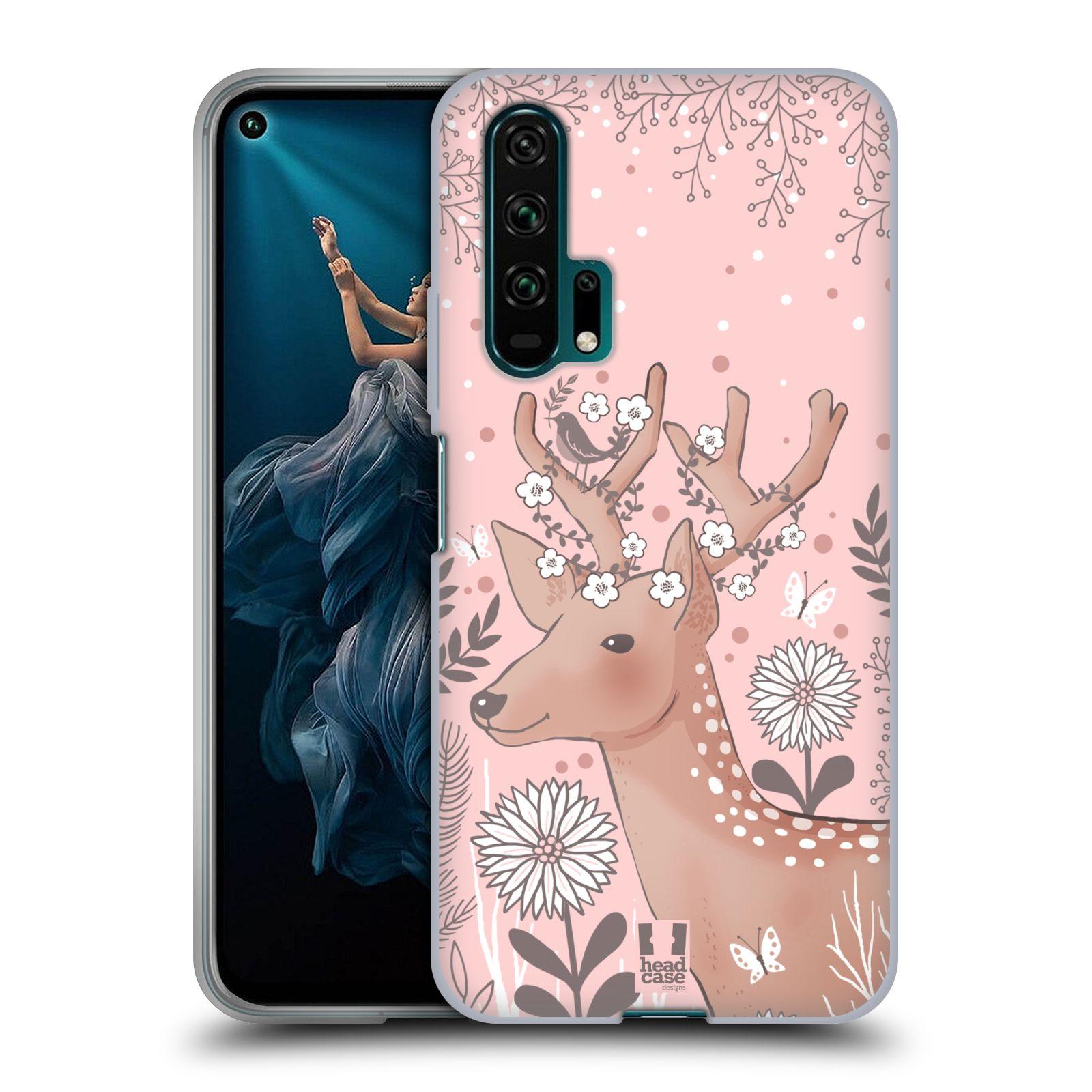 Silikonové pouzdro na mobil Honor 20 Pro - Head Case - Jelíneček