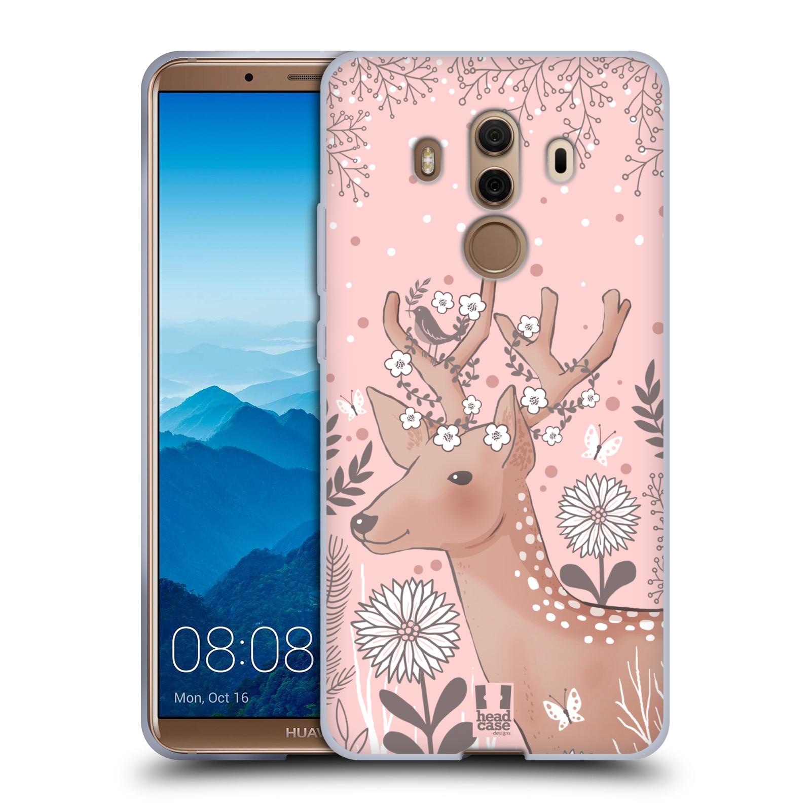 Silikonové pouzdro na mobil Huawei Mate 10 Pro - Head Case - Jelíneček