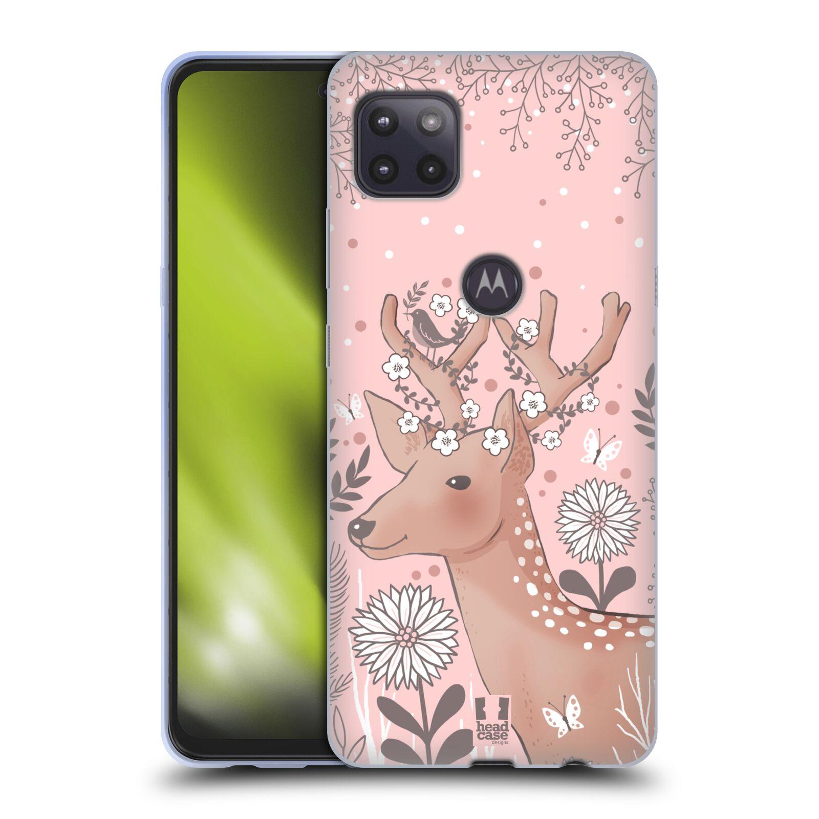 Silikonové pouzdro na mobil Motorola Moto G 5G - Head Case - Jelíneček