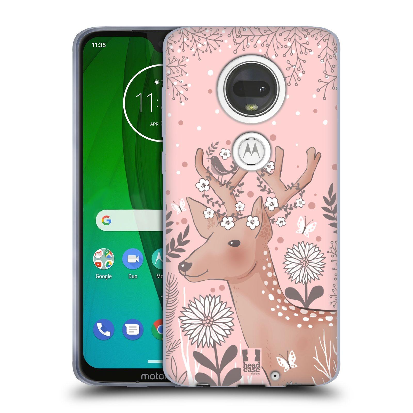 Silikonové pouzdro na mobil Motorola Moto G7 - Head Case - Jelíneček
