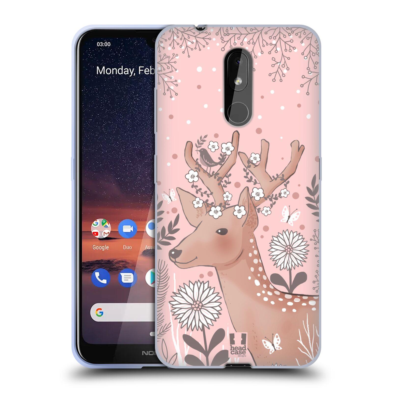 Silikonové pouzdro na mobil Nokia 3.2 - Head Case - Jelíneček