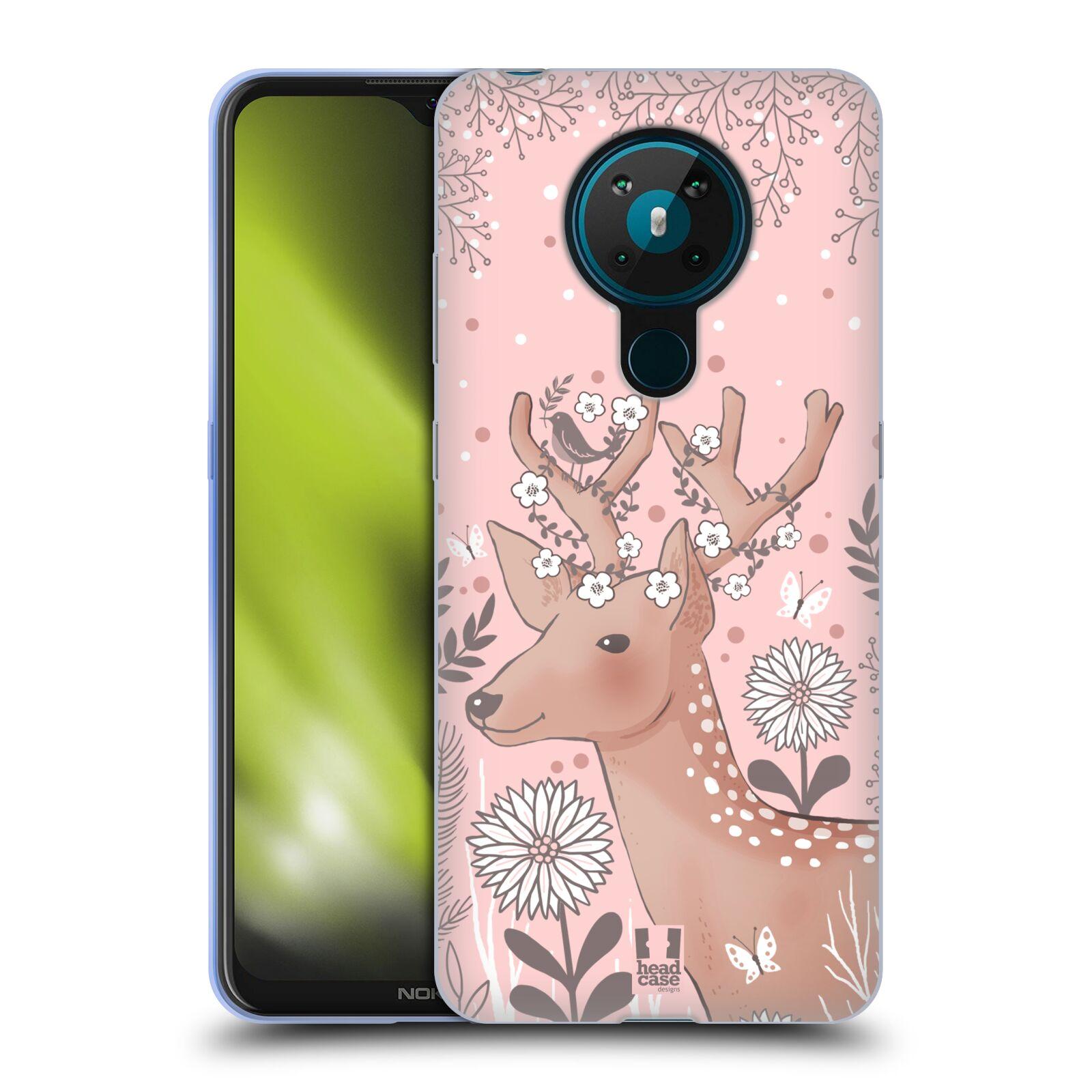 Silikonové pouzdro na mobil Nokia 5.3 - Head Case - Jelíneček
