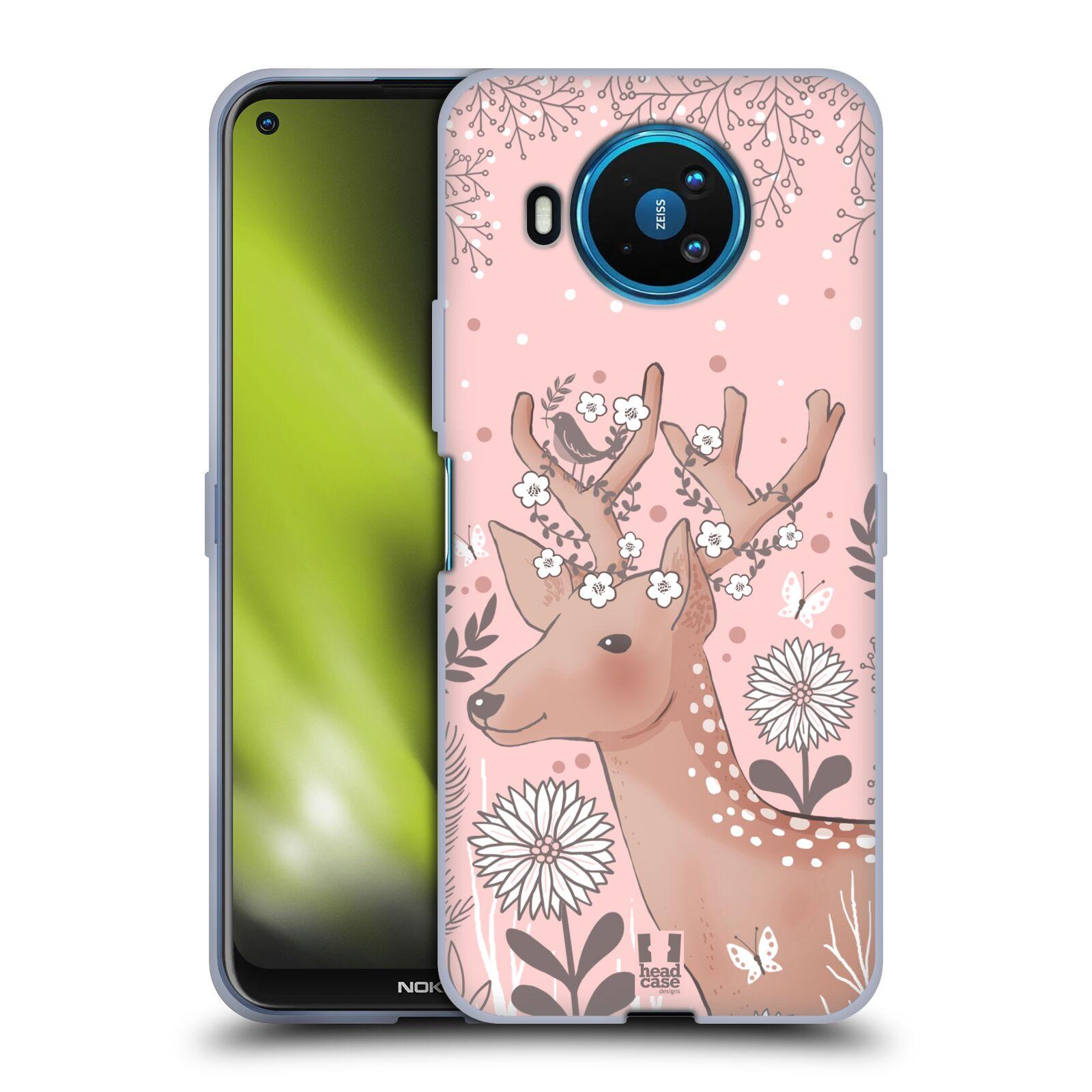 Silikonové pouzdro na mobil Nokia 8.3 5G - Head Case - Jelíneček
