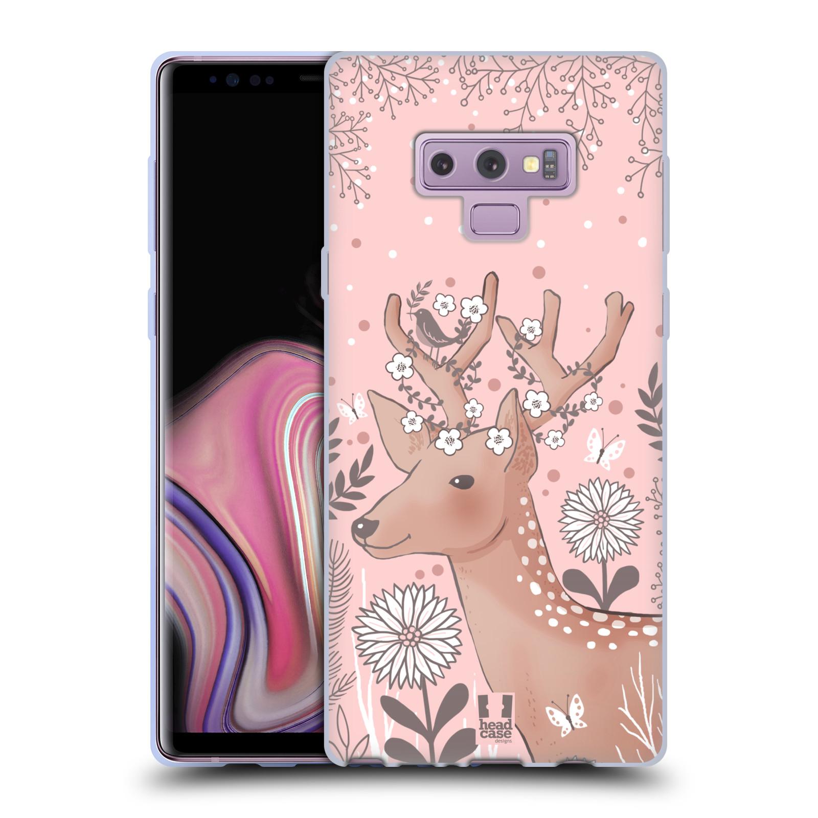 Silikonové pouzdro na mobil Samsung Galaxy Note 9 - Head Case - Jelíneček