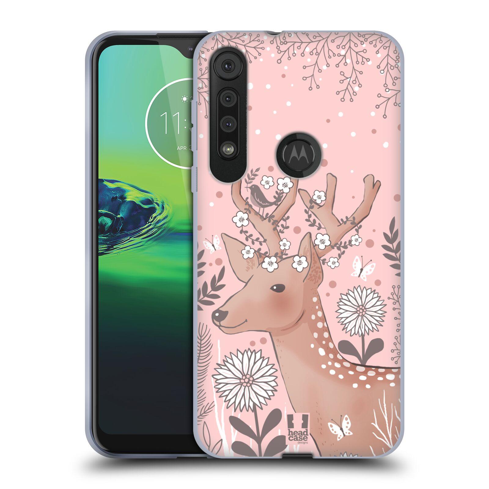 Silikonové pouzdro na mobil Motorola One Macro - Head Case - Jelíneček