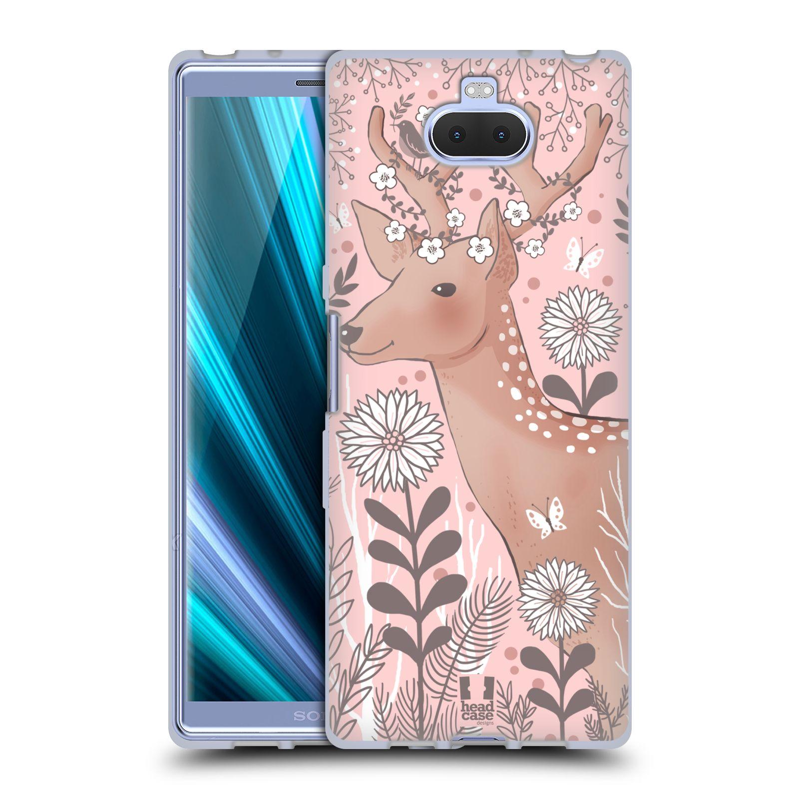 Silikonové pouzdro na mobil Sony Xperia 10 - Head Case - Jelíneček