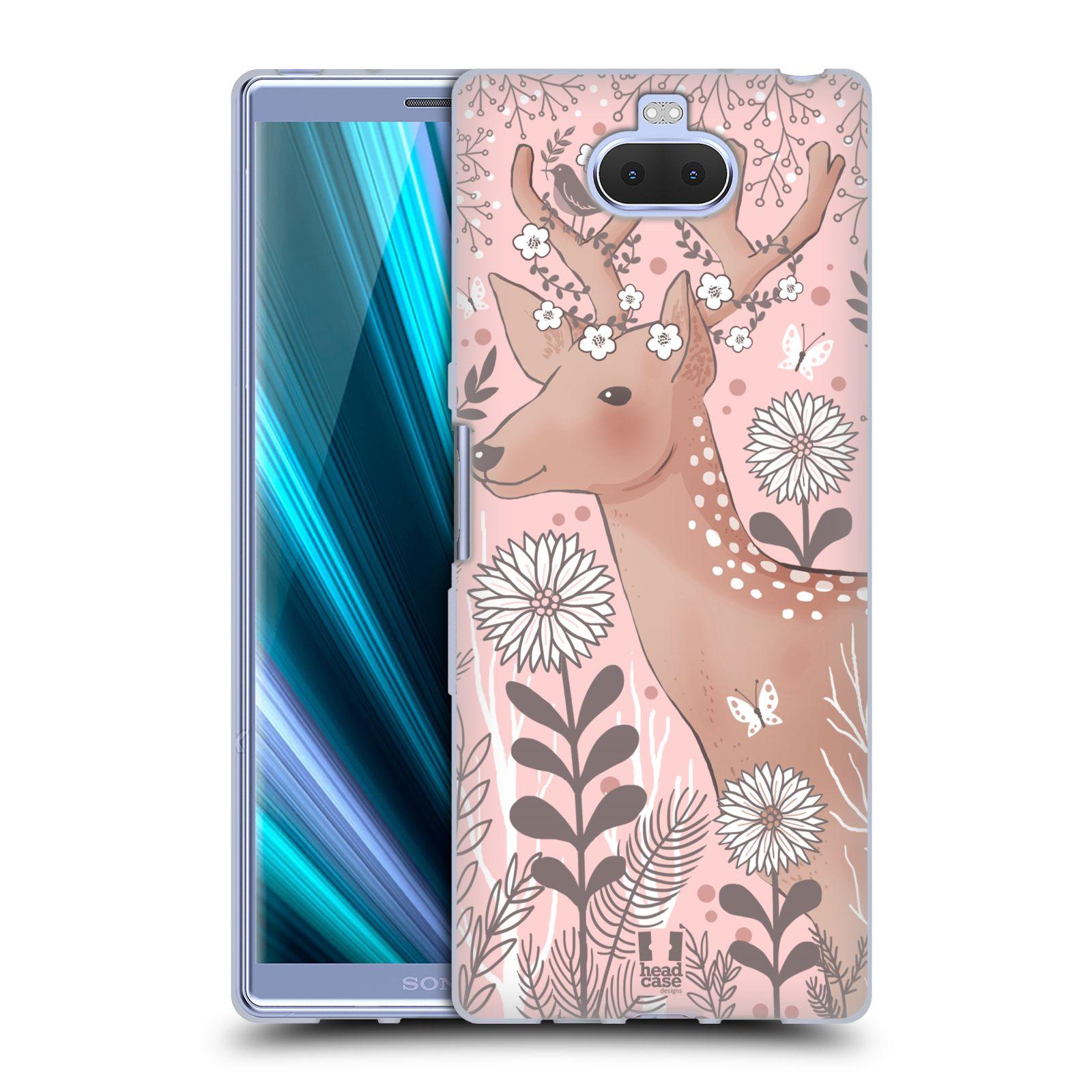 Silikonové pouzdro na mobil Sony Xperia 10 Plus - Head Case - Jelíneček