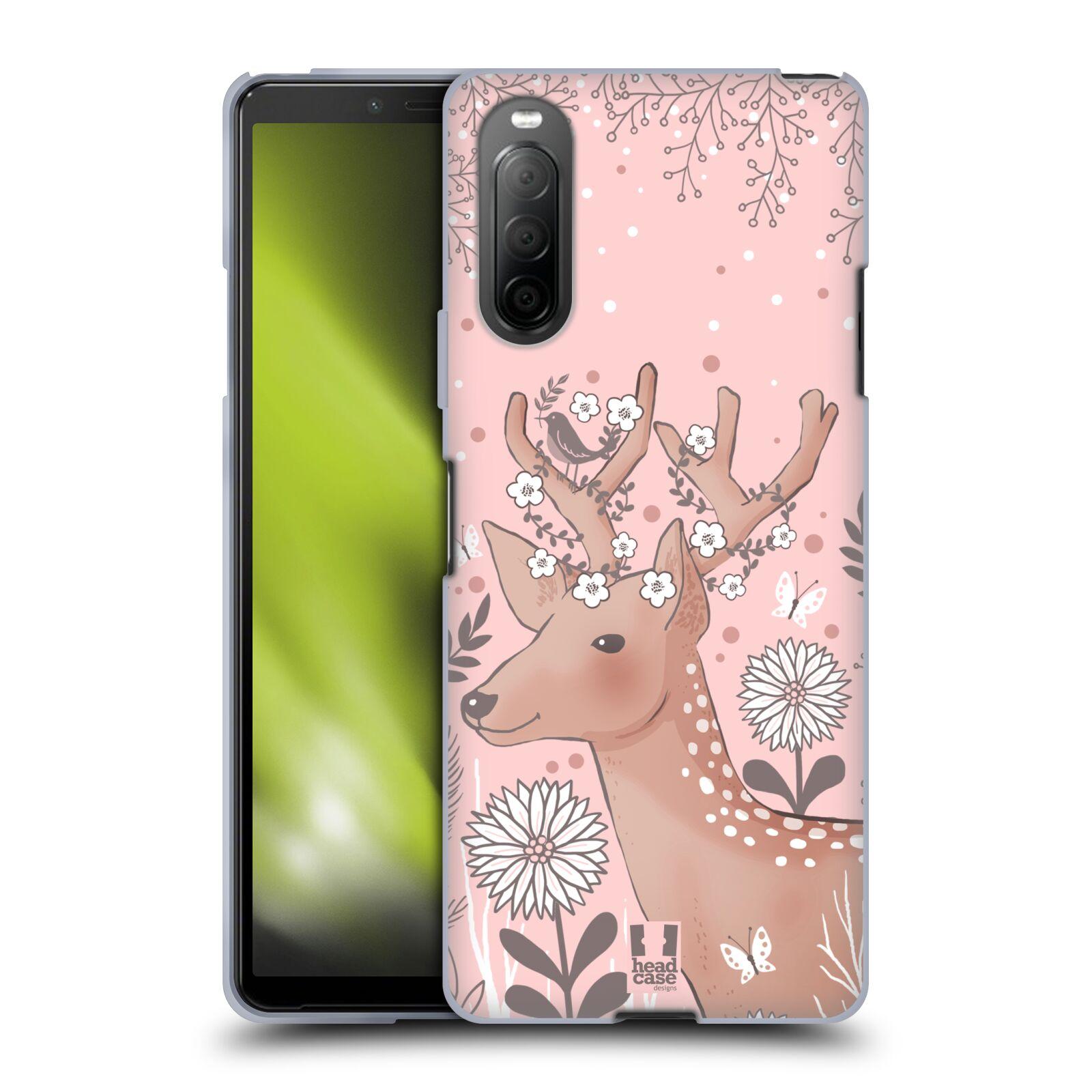 Silikonové pouzdro na mobil Sony Xperia 10 II - Head Case - Jelíneček
