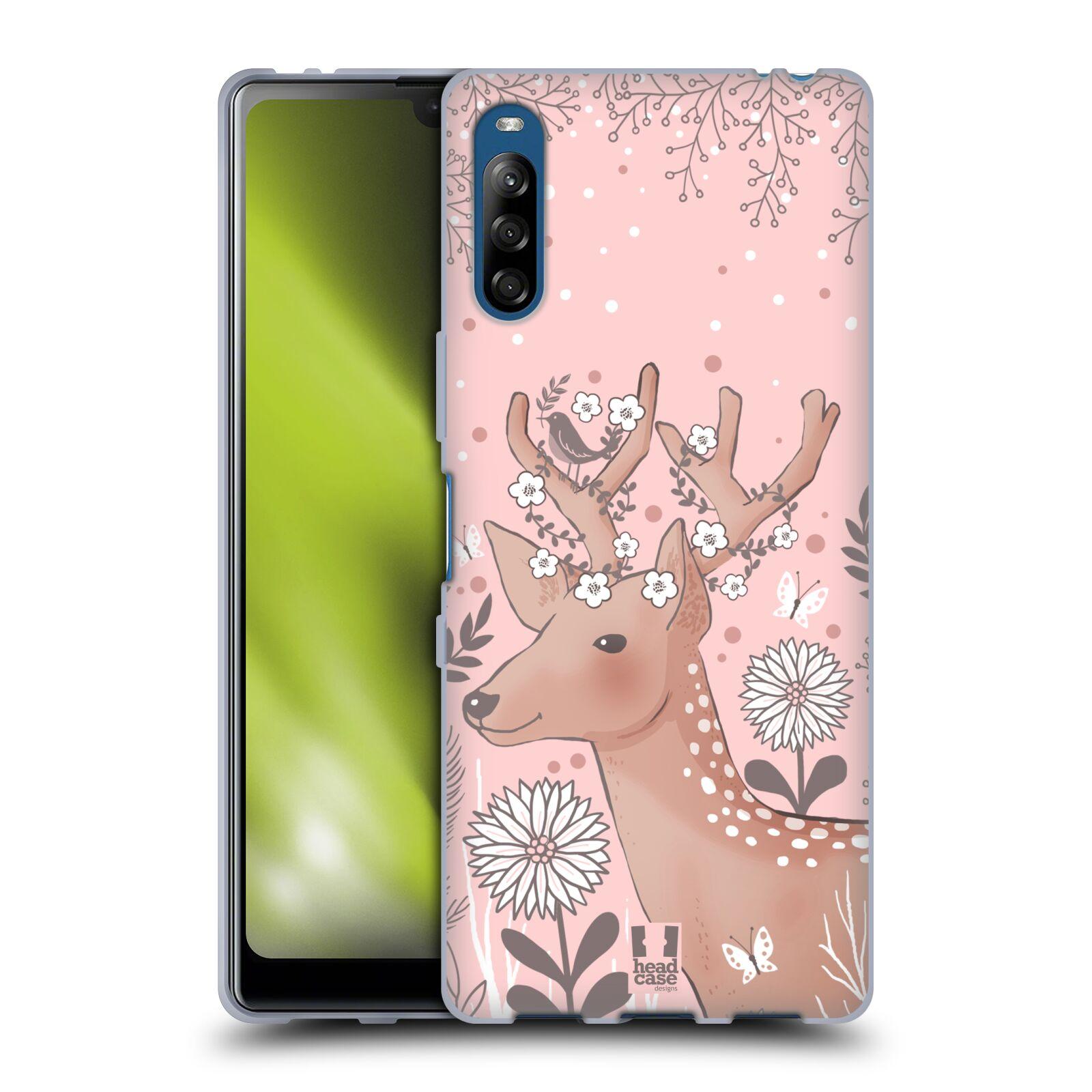 Silikonové pouzdro na mobil Sony Xperia L4 - Head Case - Jelíneček