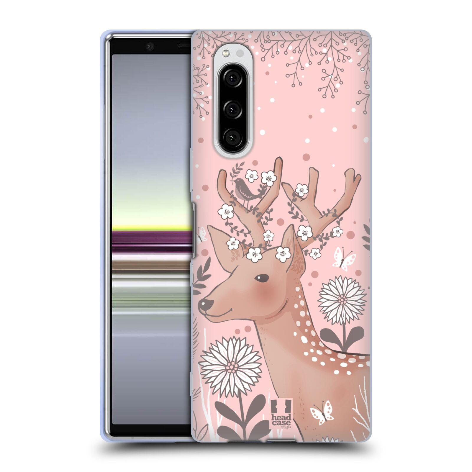 Silikonové pouzdro na mobil Sony Xperia 5 - Head Case - Jelíneček