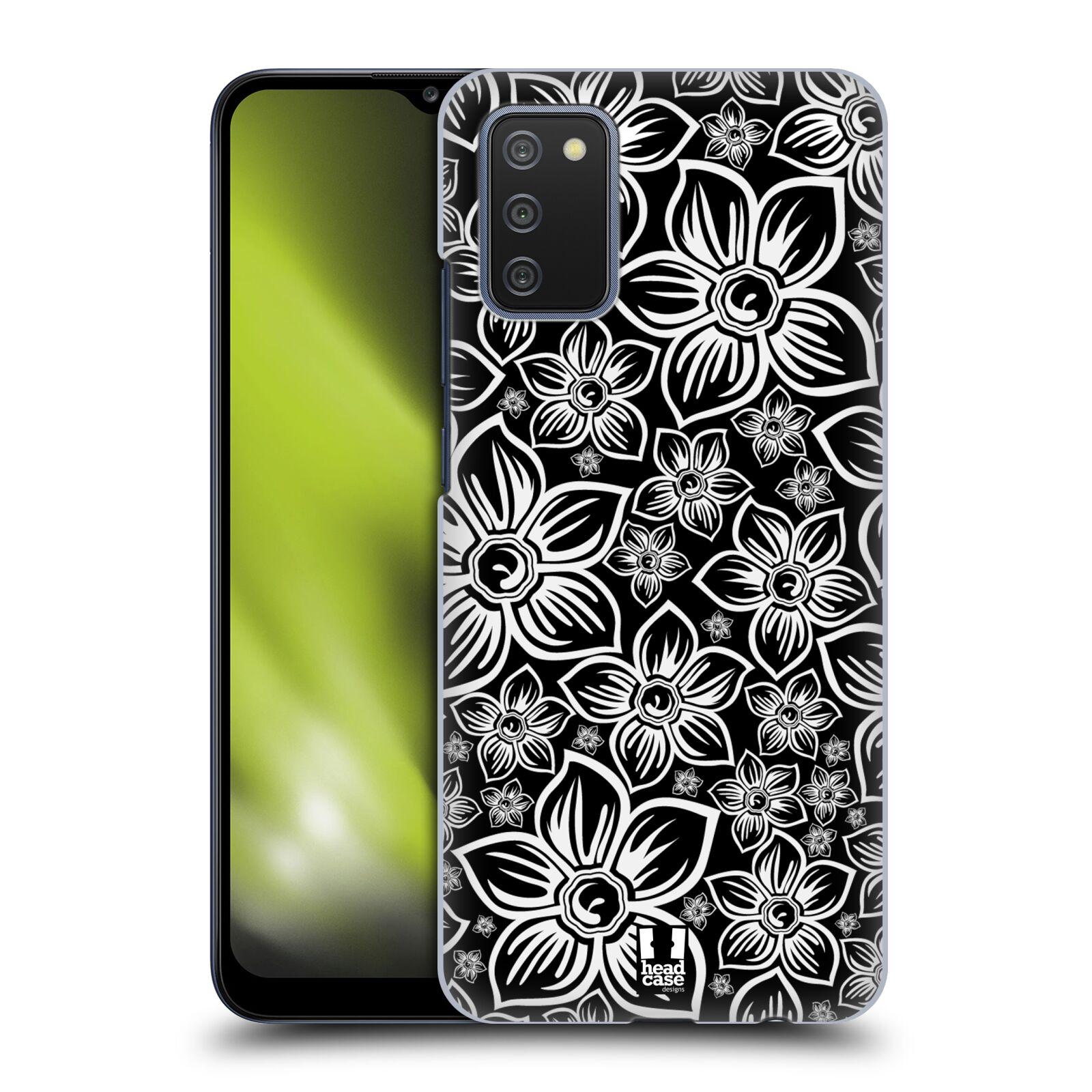 Plastové pouzdro na mobil Samsung Galaxy A02s - Head Case - FLORAL DAISY