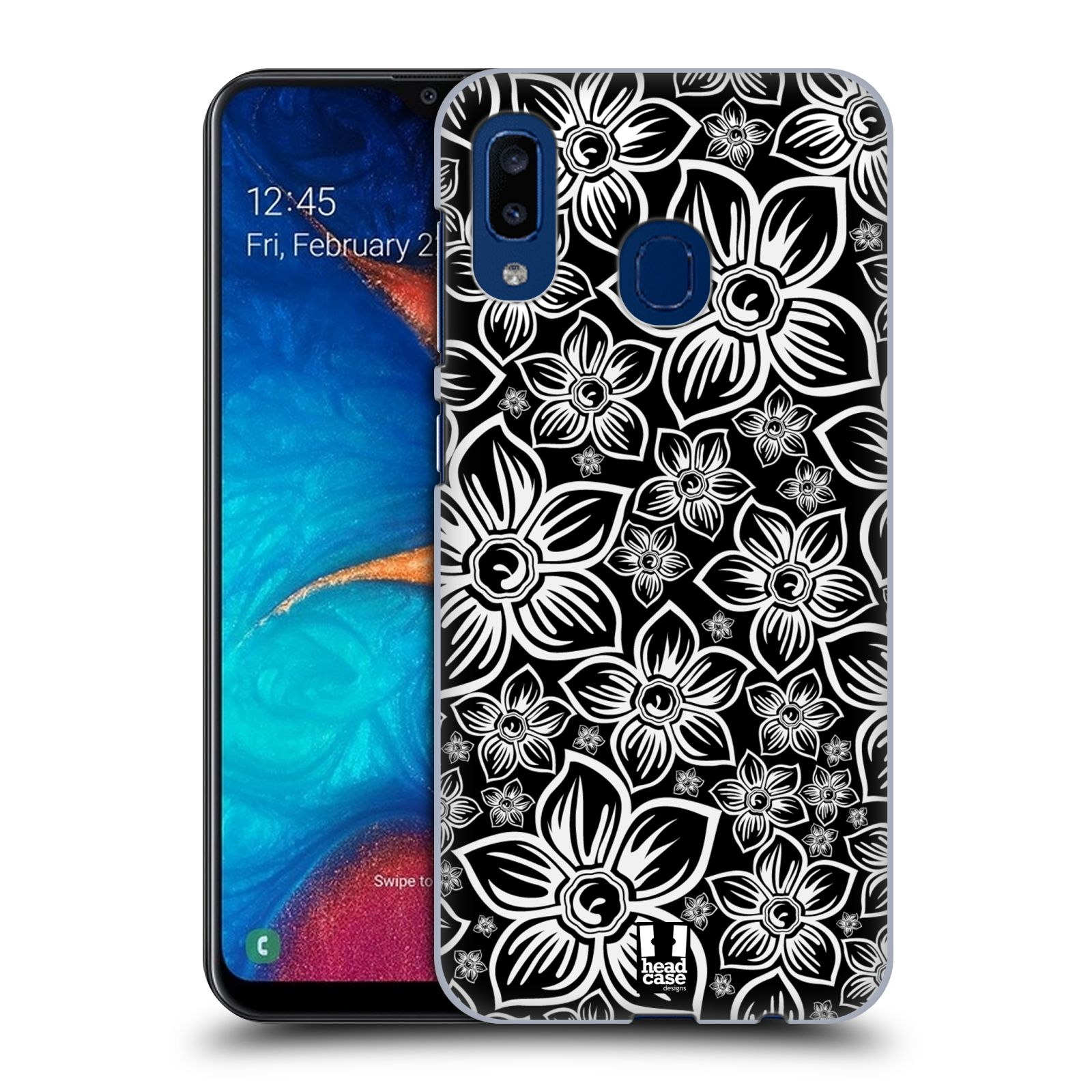 Plastové pouzdro na mobil Samsung Galaxy A20 - Head Case - FLORAL DAISY