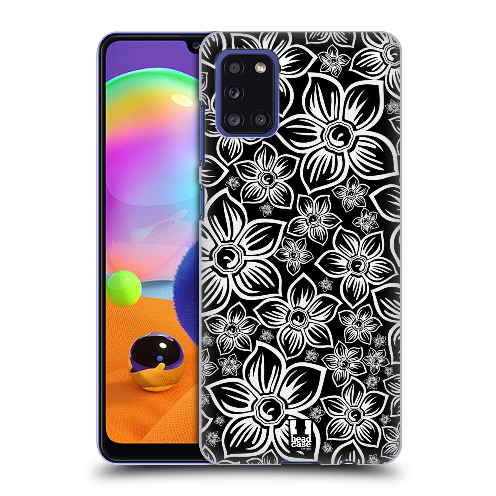 Plastové pouzdro na mobil Samsung Galaxy A31 - Head Case - FLORAL DAISY