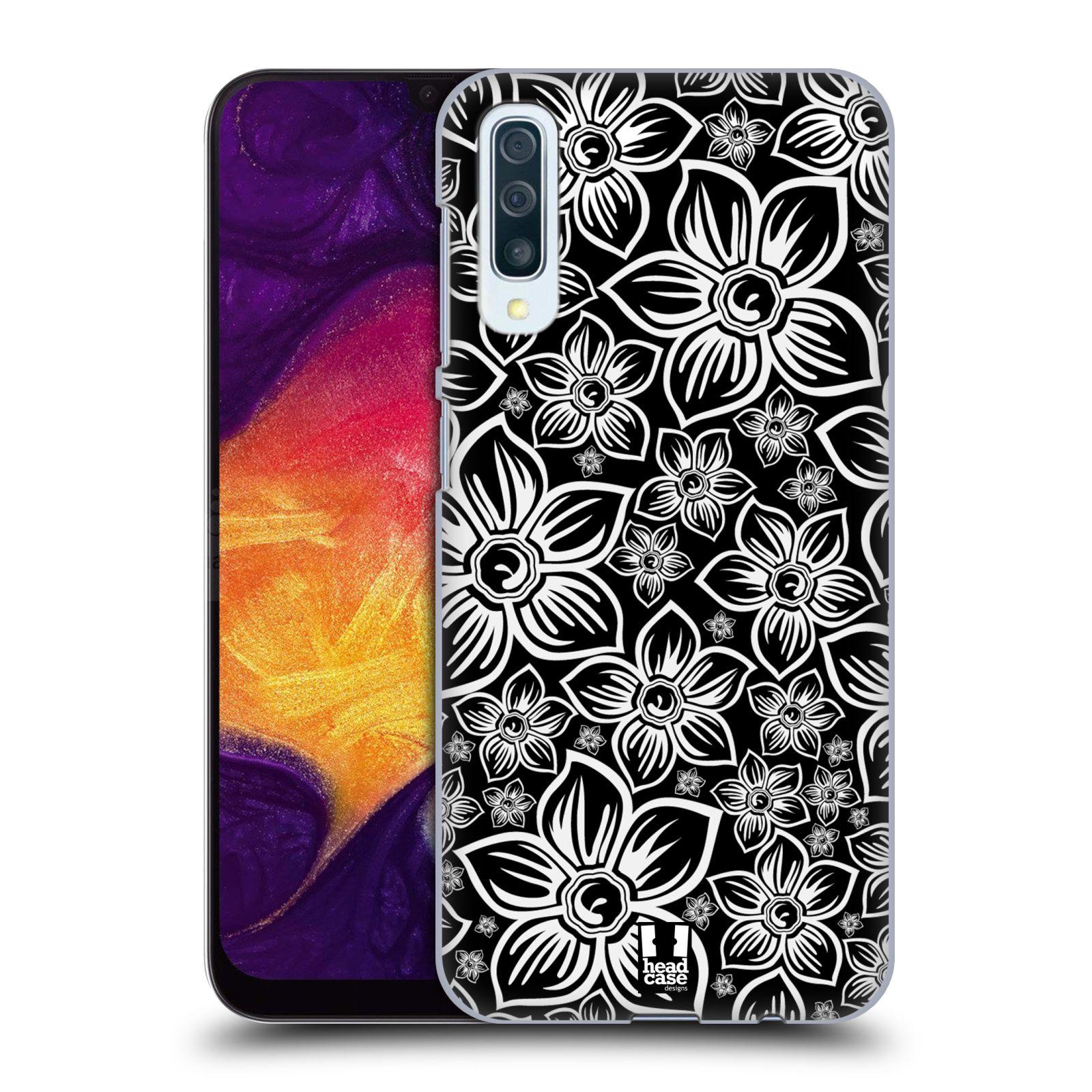 Plastové pouzdro na mobil Samsung Galaxy A50 - Head Case - FLORAL DAISY