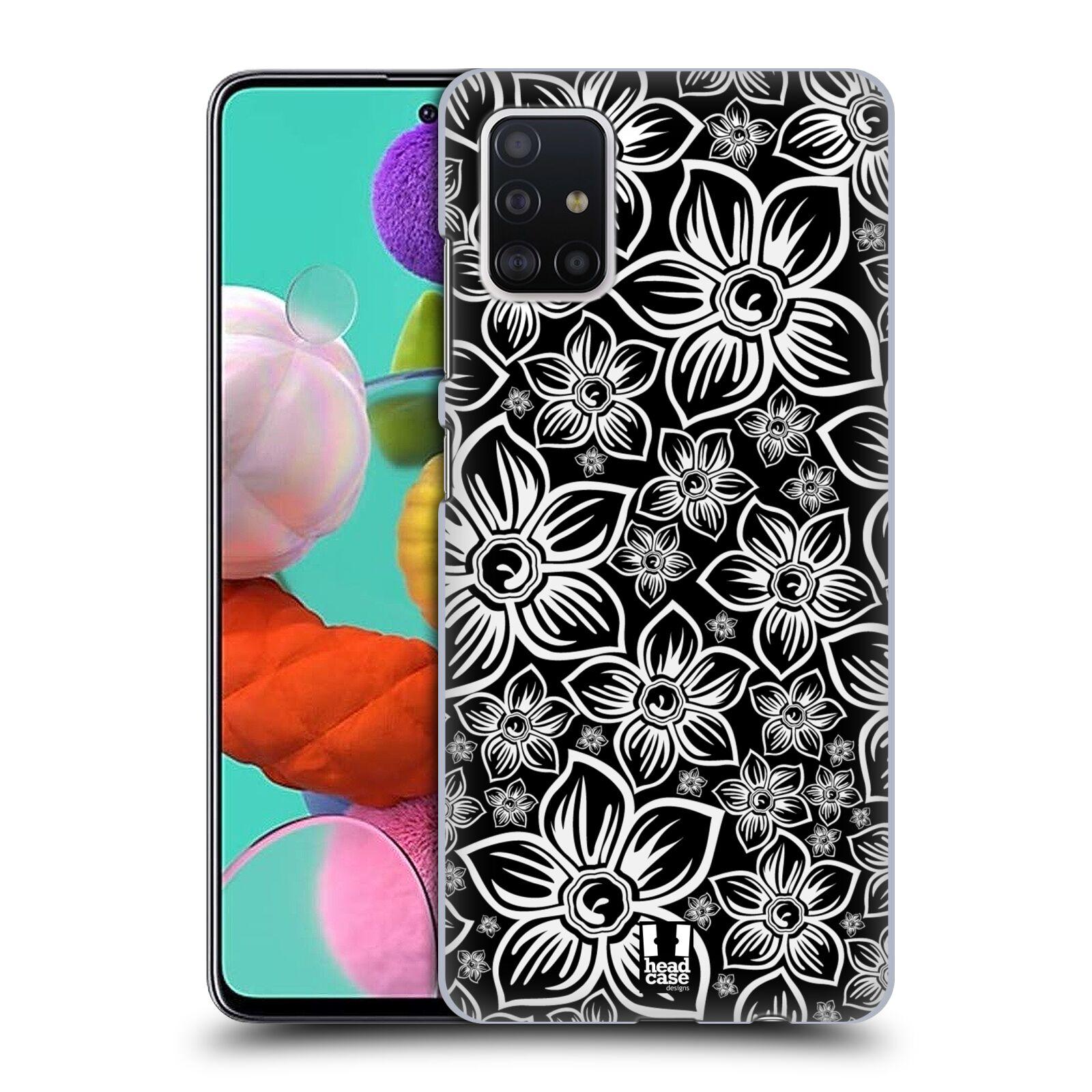 Plastové pouzdro na mobil Samsung Galaxy A51 - Head Case - FLORAL DAISY