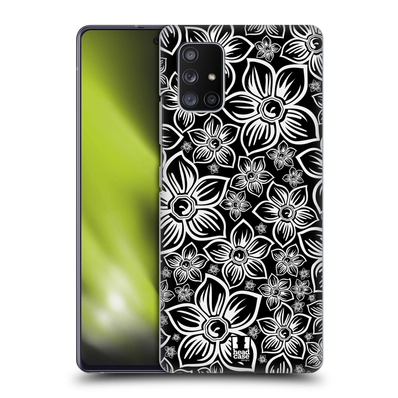 Plastové pouzdro na mobil Samsung Galaxy A51 5G - Head Case - FLORAL DAISY