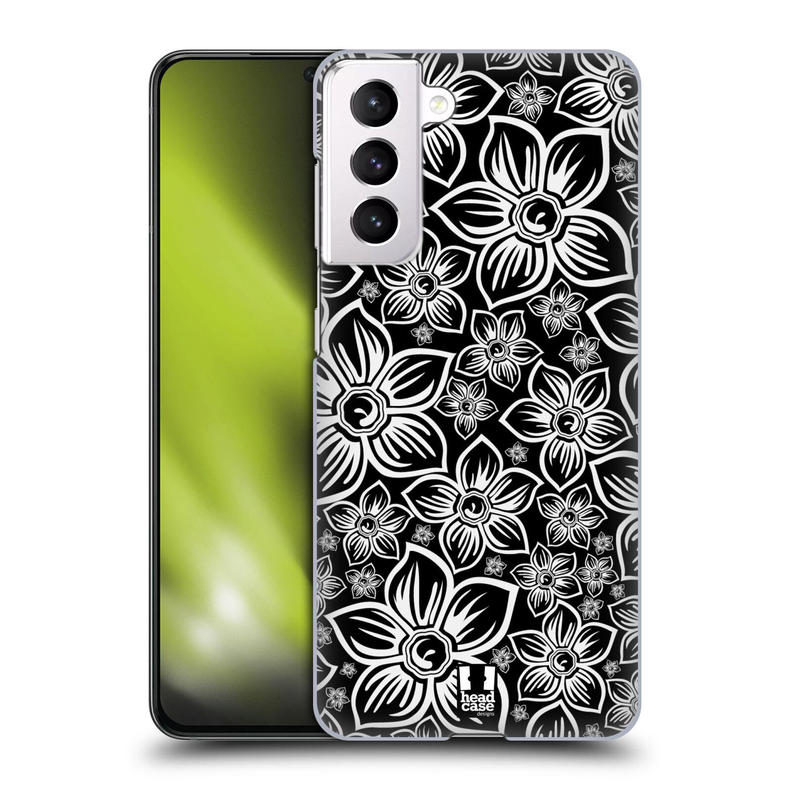 Plastové pouzdro na mobil Samsung Galaxy S21 5G - Head Case - FLORAL DAISY