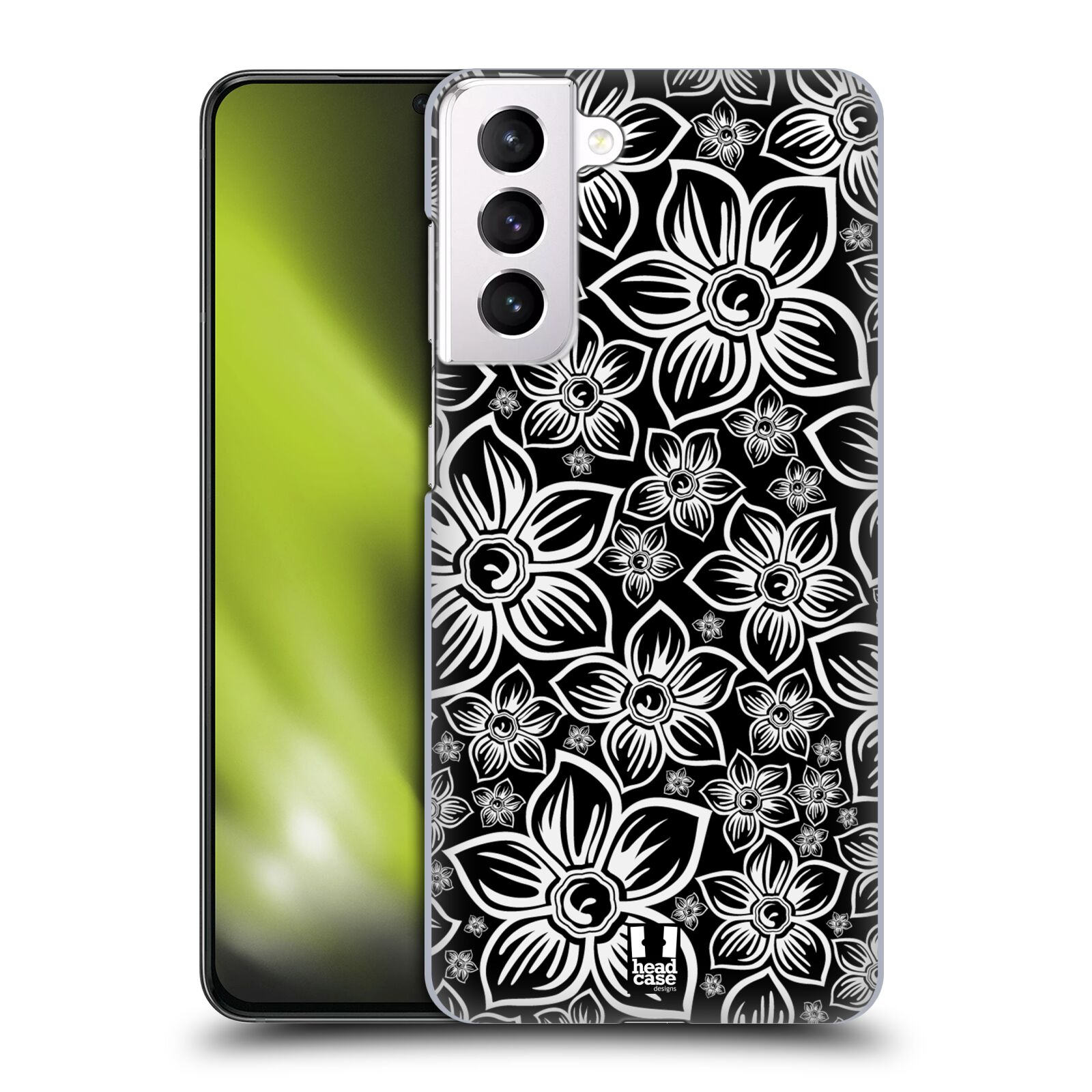 Plastové pouzdro na mobil Samsung Galaxy S21 Plus 5G - Head Case - FLORAL DAISY