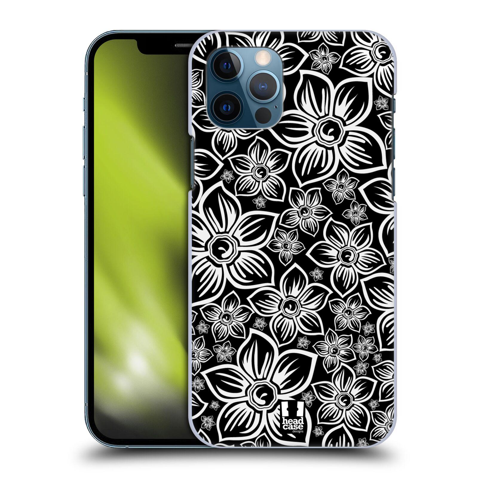 Plastové pouzdro na mobil Apple iPhone 12 / 12 Pro - Head Case - FLORAL DAISY