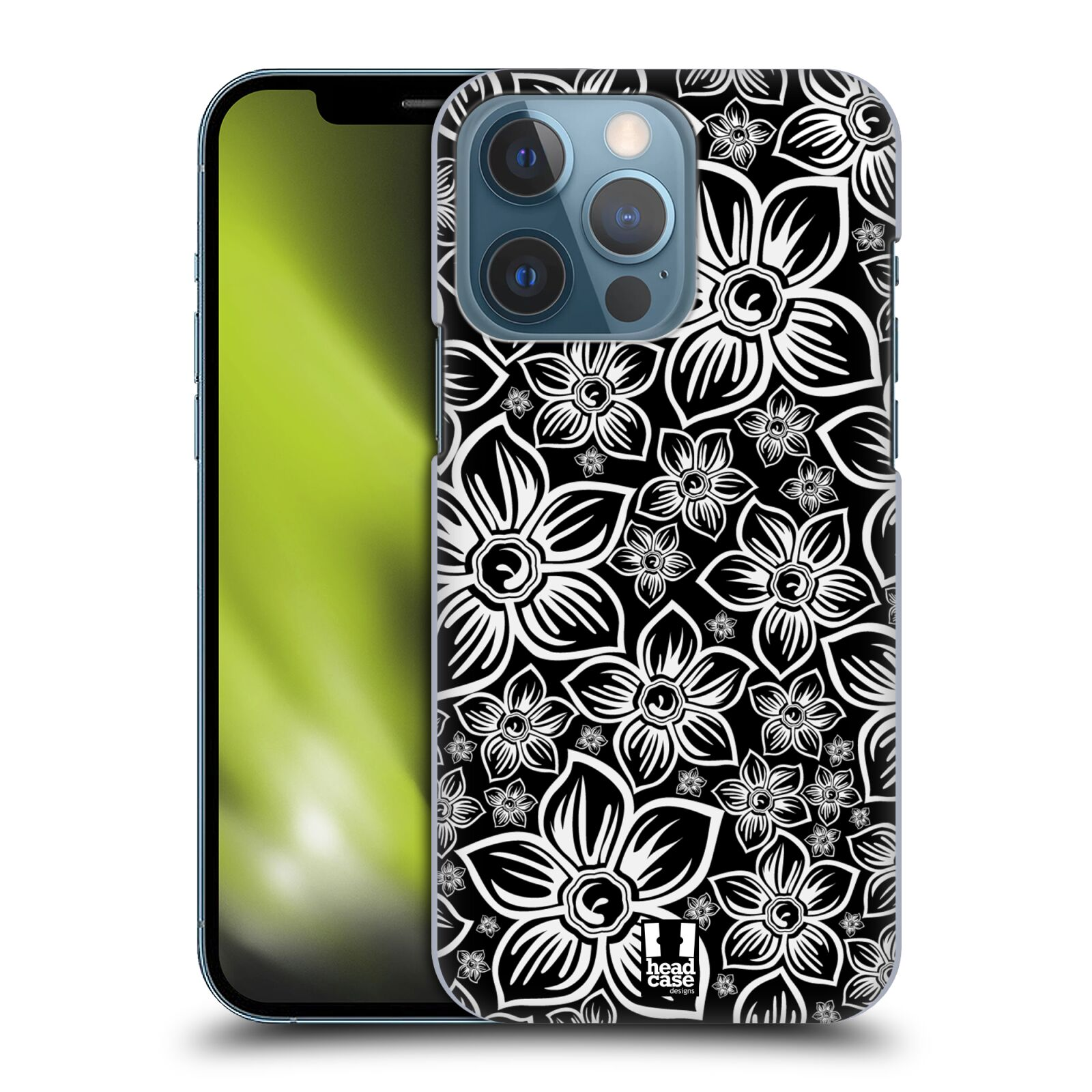 Plastové pouzdro na mobil Apple iPhone 13 Pro - Head Case - FLORAL DAISY