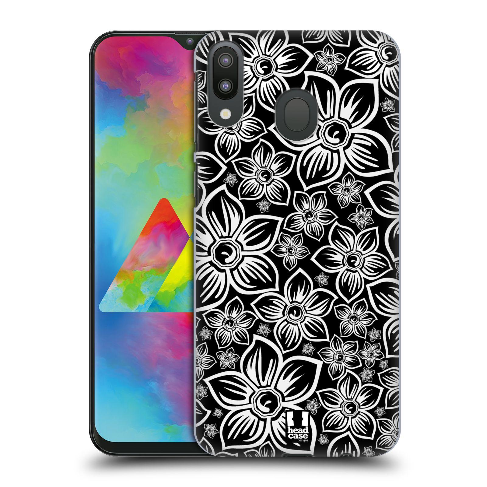 Plastové pouzdro na mobil Samsung Galaxy M20 - Head Case - FLORAL DAISY